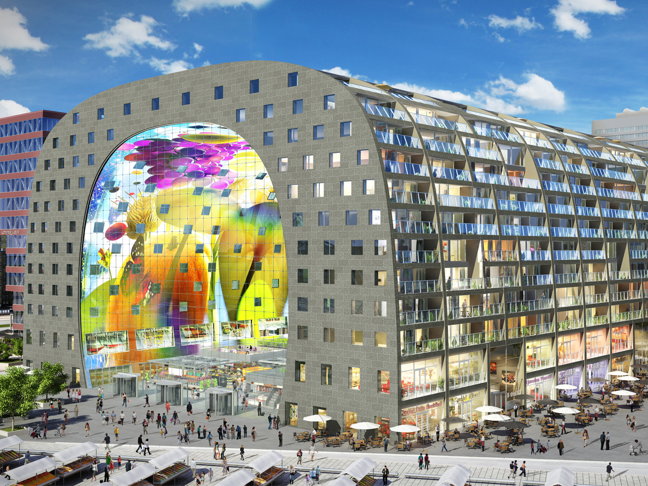 NYT names the Dutch Markthal as one of the 2014 Top Travel Destinations