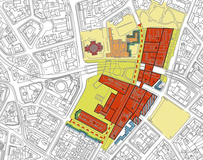MVRDV shortlisted for the urban feasibility study for Oslo's new government quarter