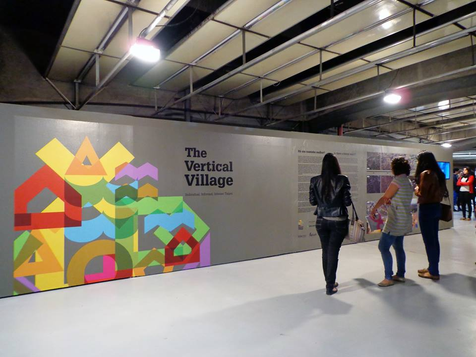 Vertical Village Exhibition on display in São Paulo