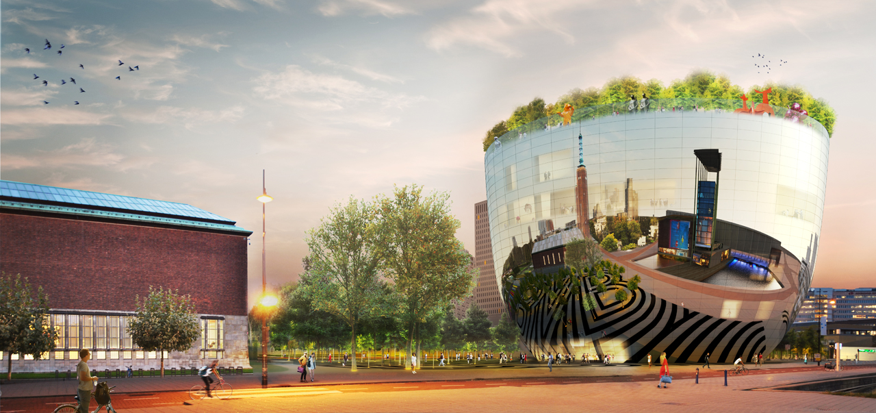 MVRDV's Sketch Design for The new Collection Building of Museum Boijmans van Beuningen in Rotterdam