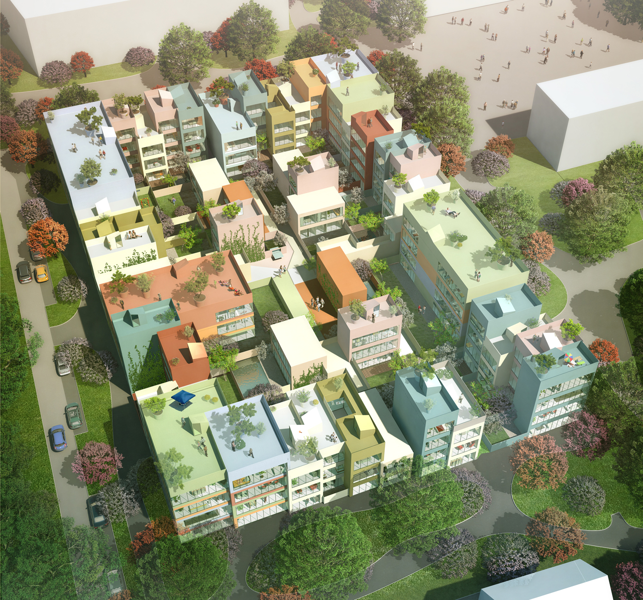 MVRDV WIN COMPETITION with Emmen Urban Hybrid