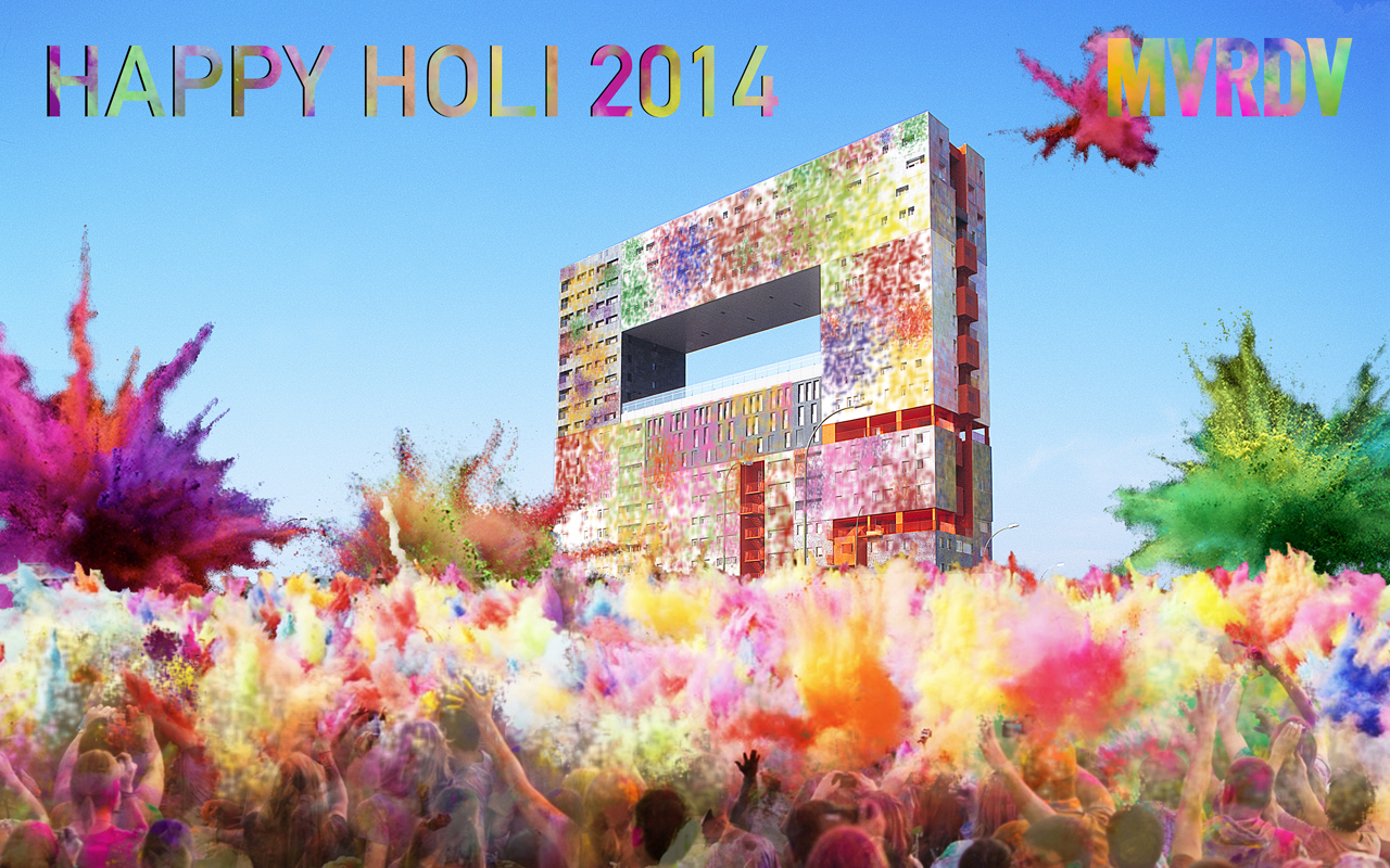 To our friends in India and around the world: Happy Holi 2014