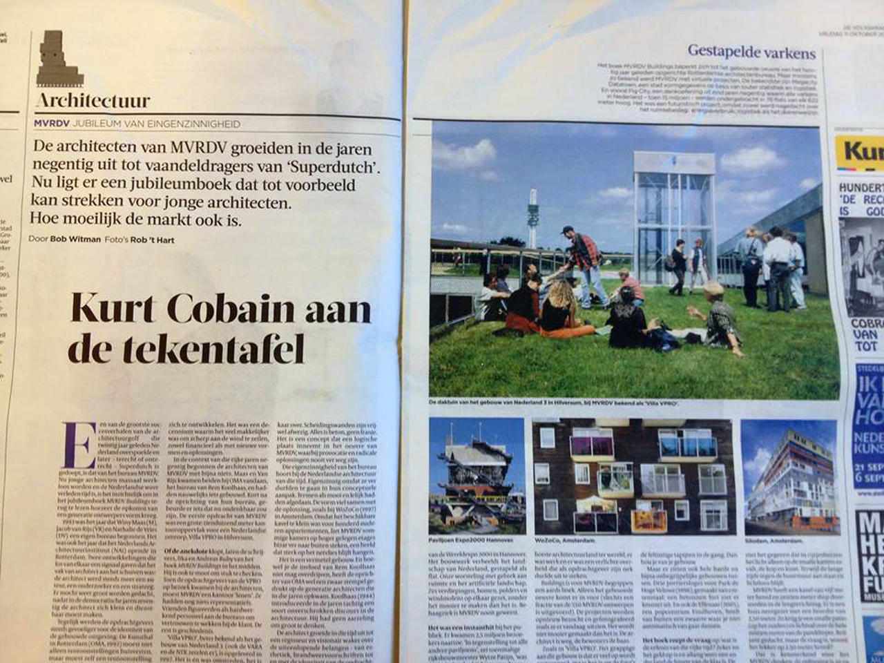 Dutch Newspaper De Volkskrant CALLs MVRDV the Nirvana of the Architecture world