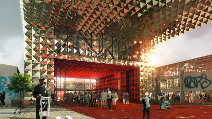 Ground breaking for Danish Rock Museum in Roskilde