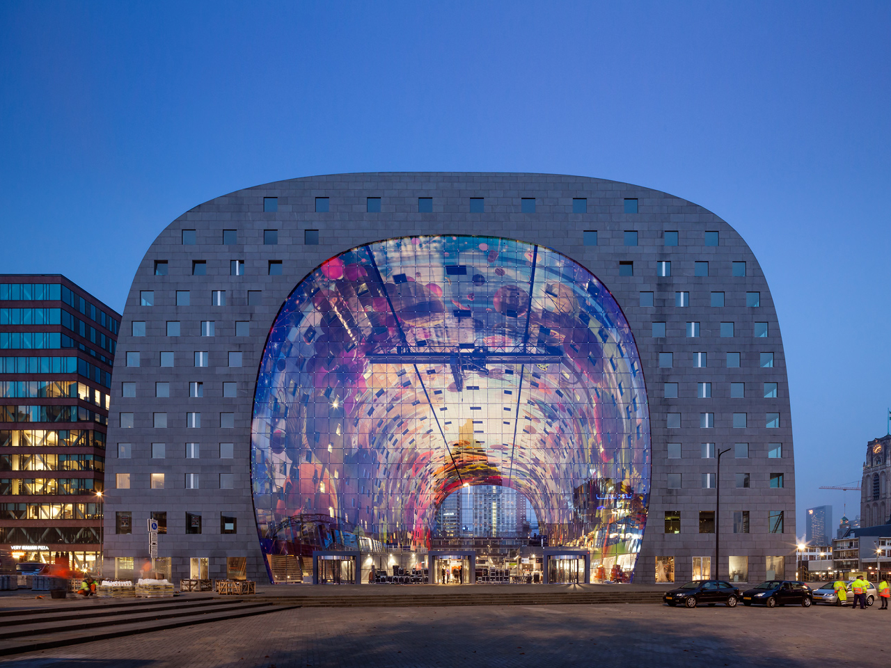 Markthal wins the World Architecture News (WAN) Mixed-Use Award 2014
