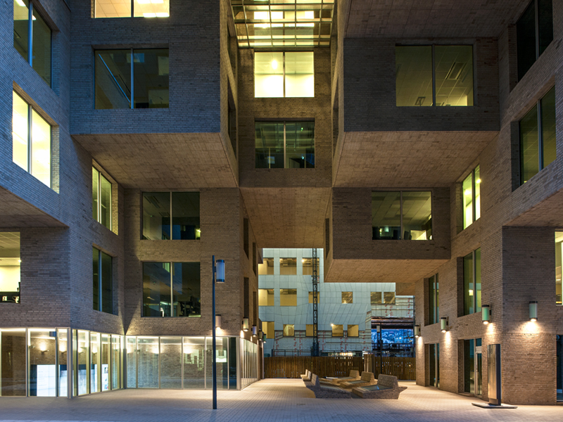 dnb headquarters BUILDING COMPLETED in OSLO