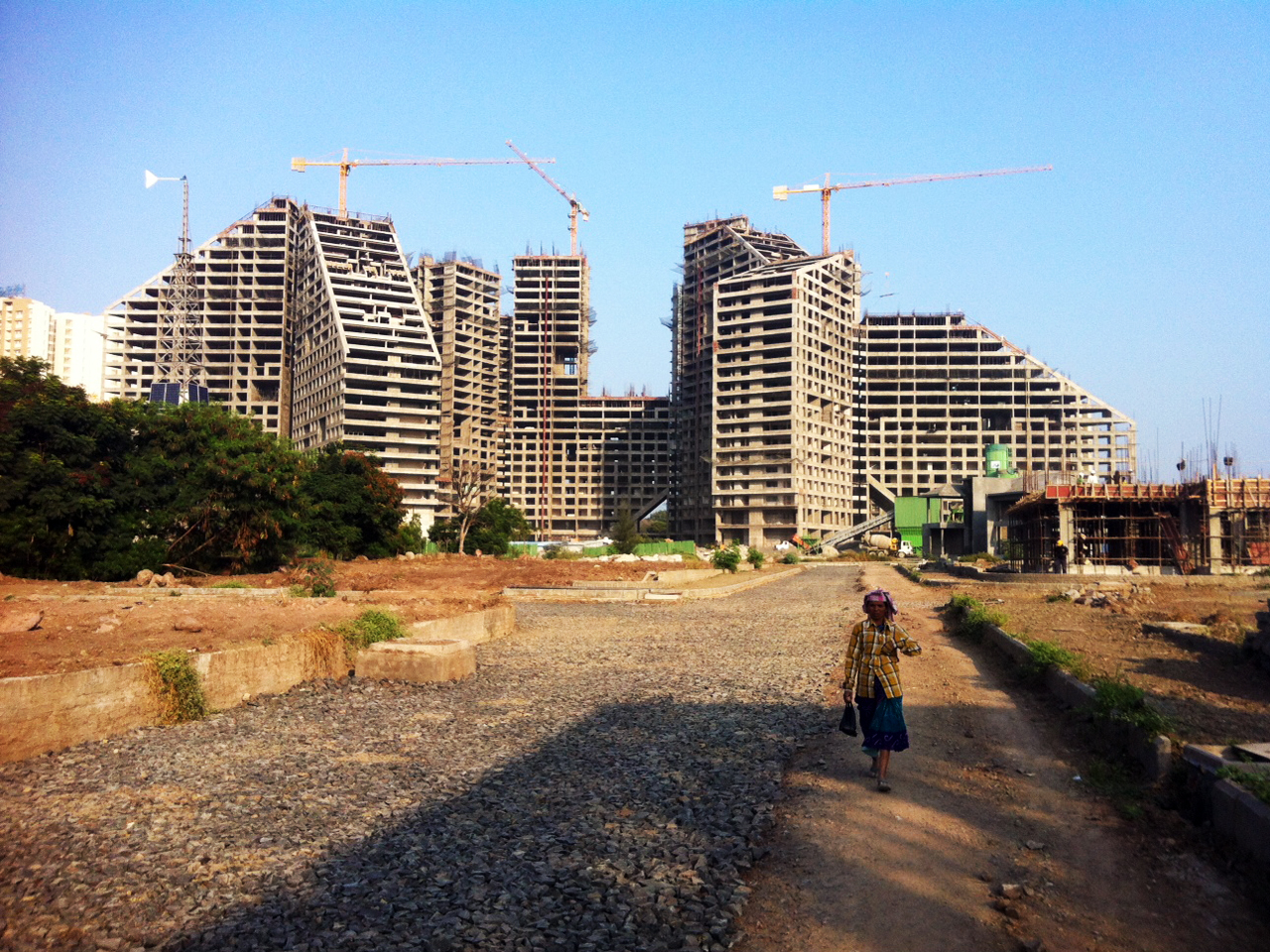 MVRDV's Future Towers taking shape in India
