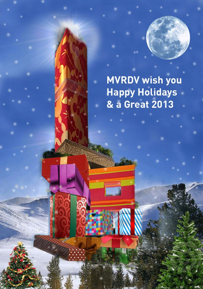 MVRDV wish you happy holidays