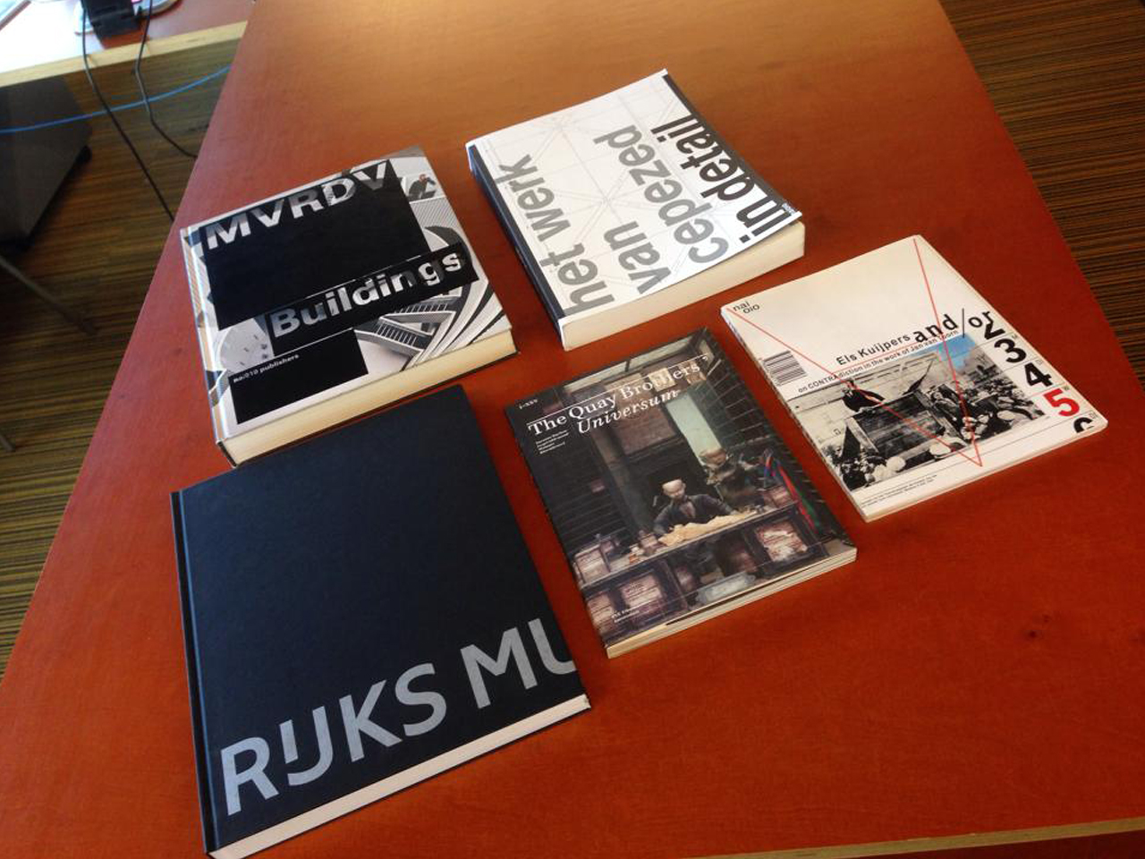 MVRDV Buildings monograph: one of the Best Dutch Book Designs of 2013