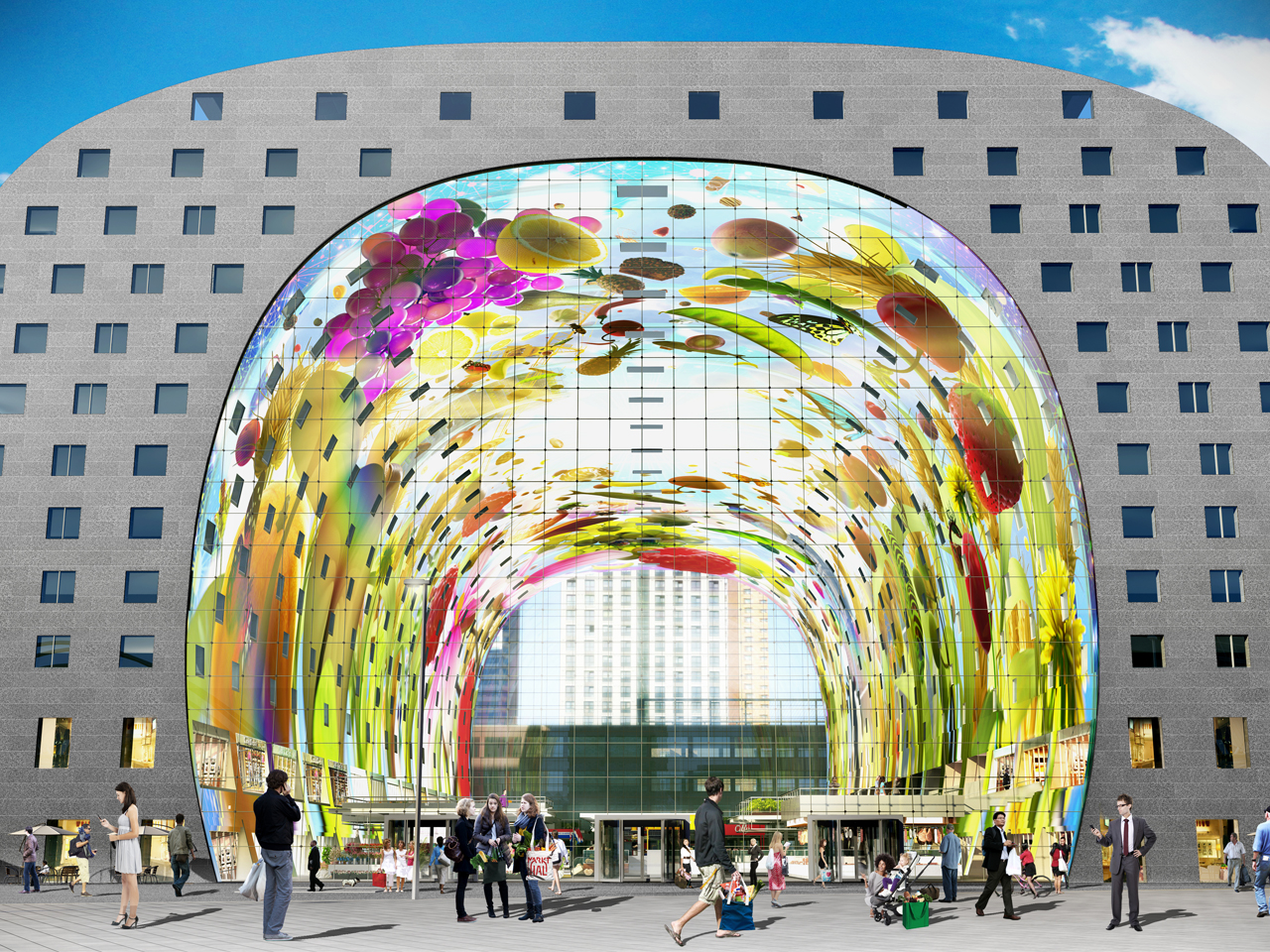 Go and visit Markthal: Rotterdam in Rough Guides top 10 cities to visit in 2014