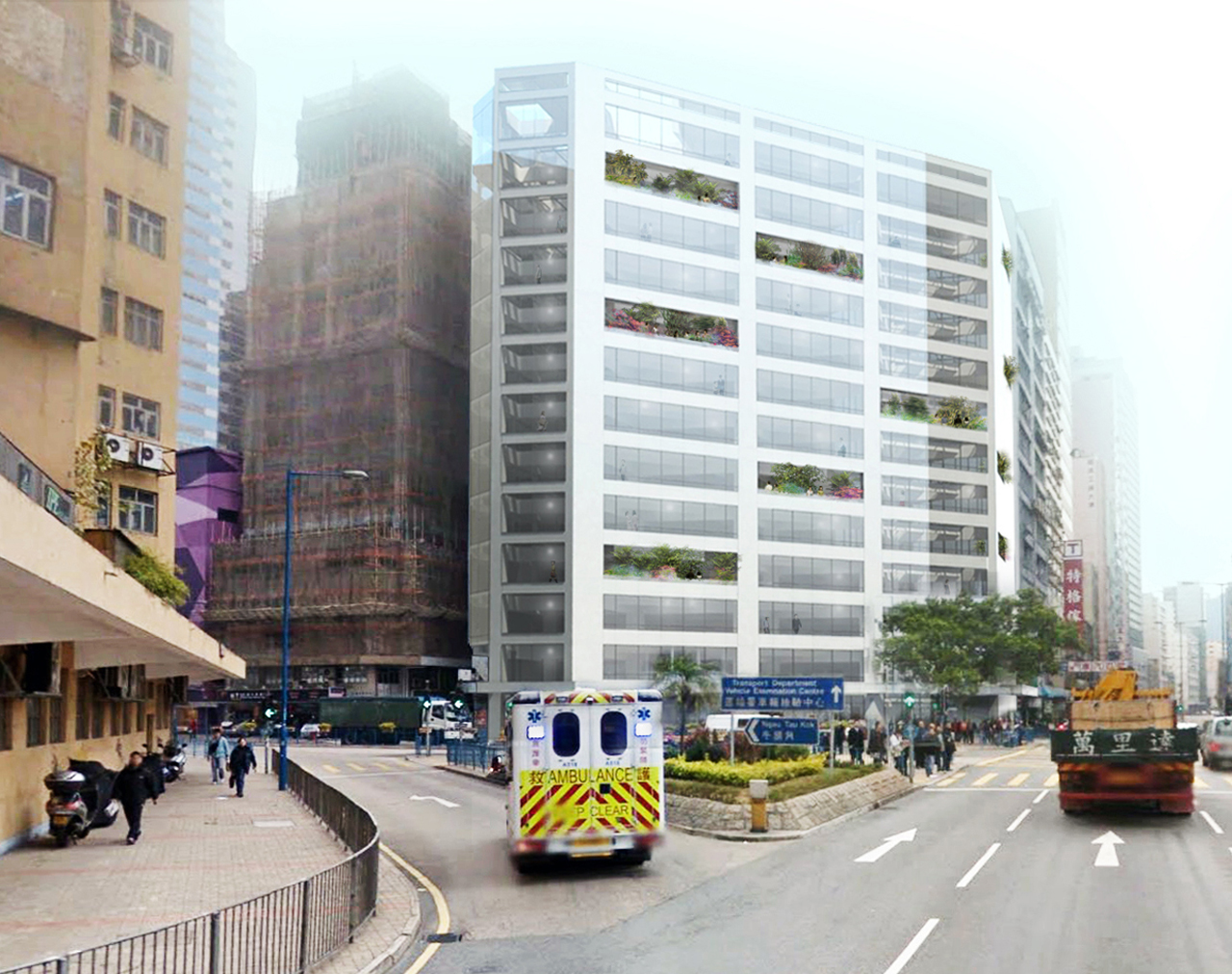 Construction start on Cheung Fai Building transformation, Hong Kong