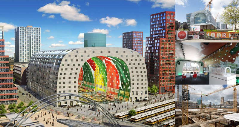 markthal experience open at day of architecture