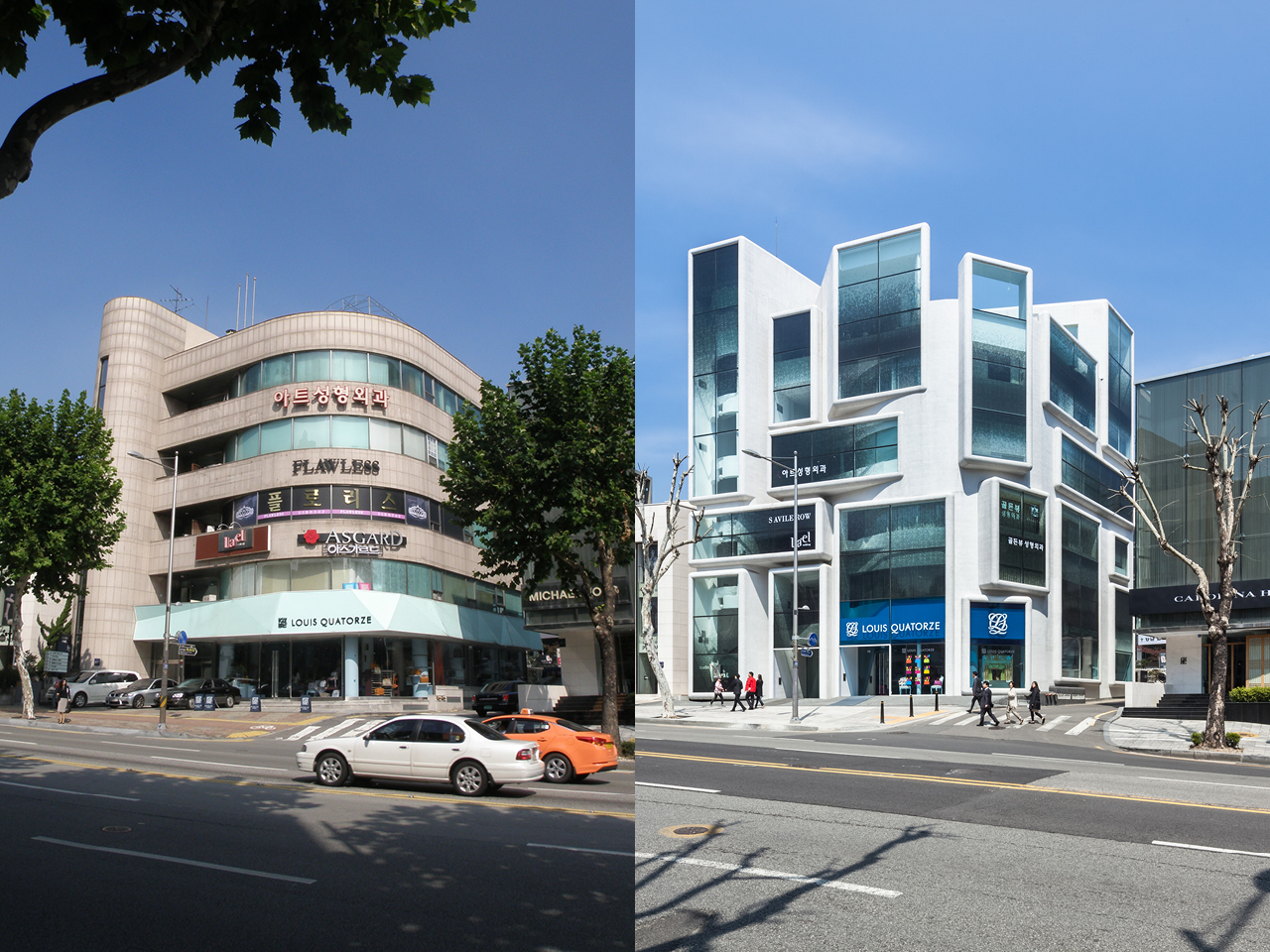 gangnam style: mvrdv completes building transformation in seoul, South Korea