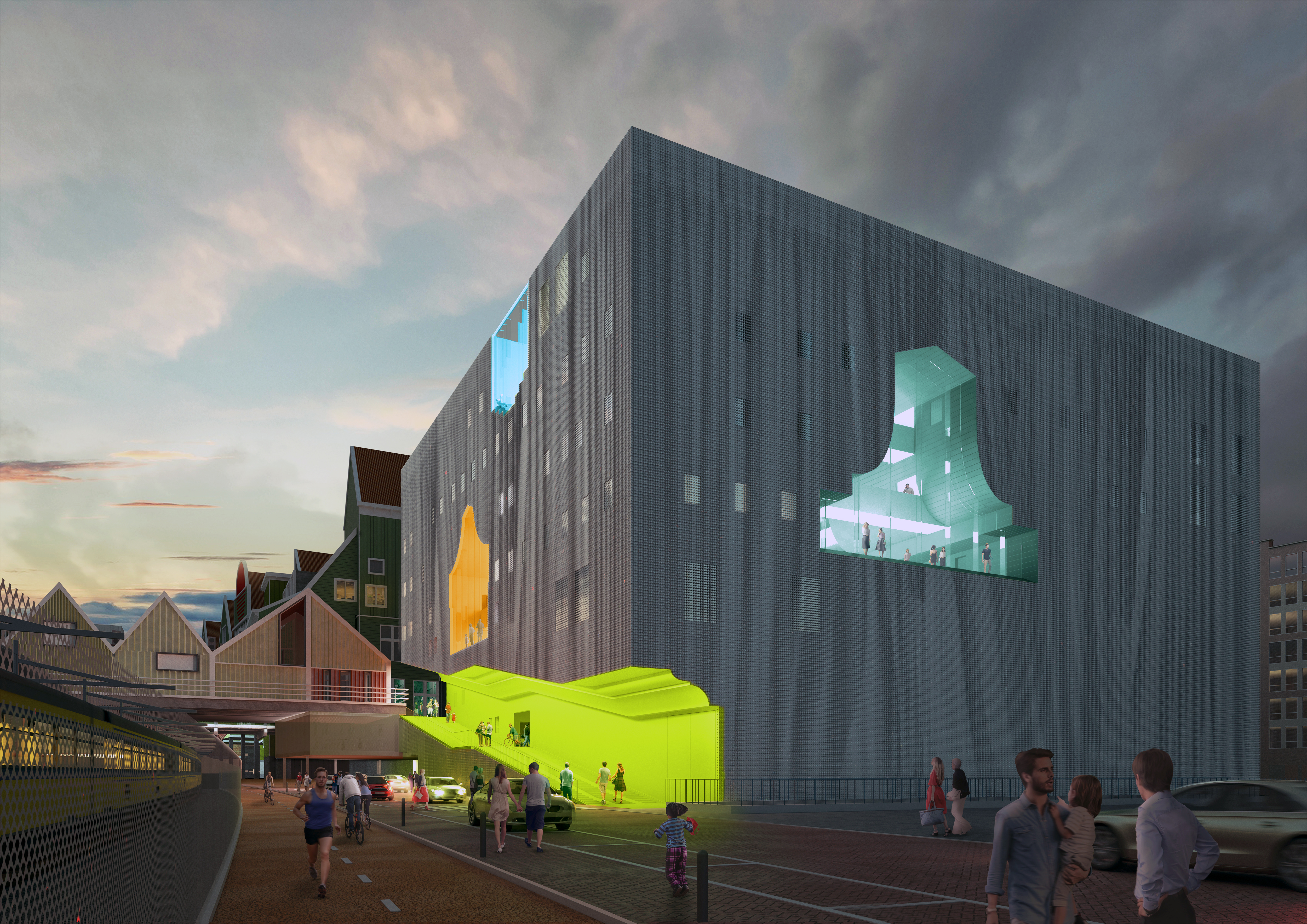 Green light for MVRDV's cultural cluster in Zaanstad