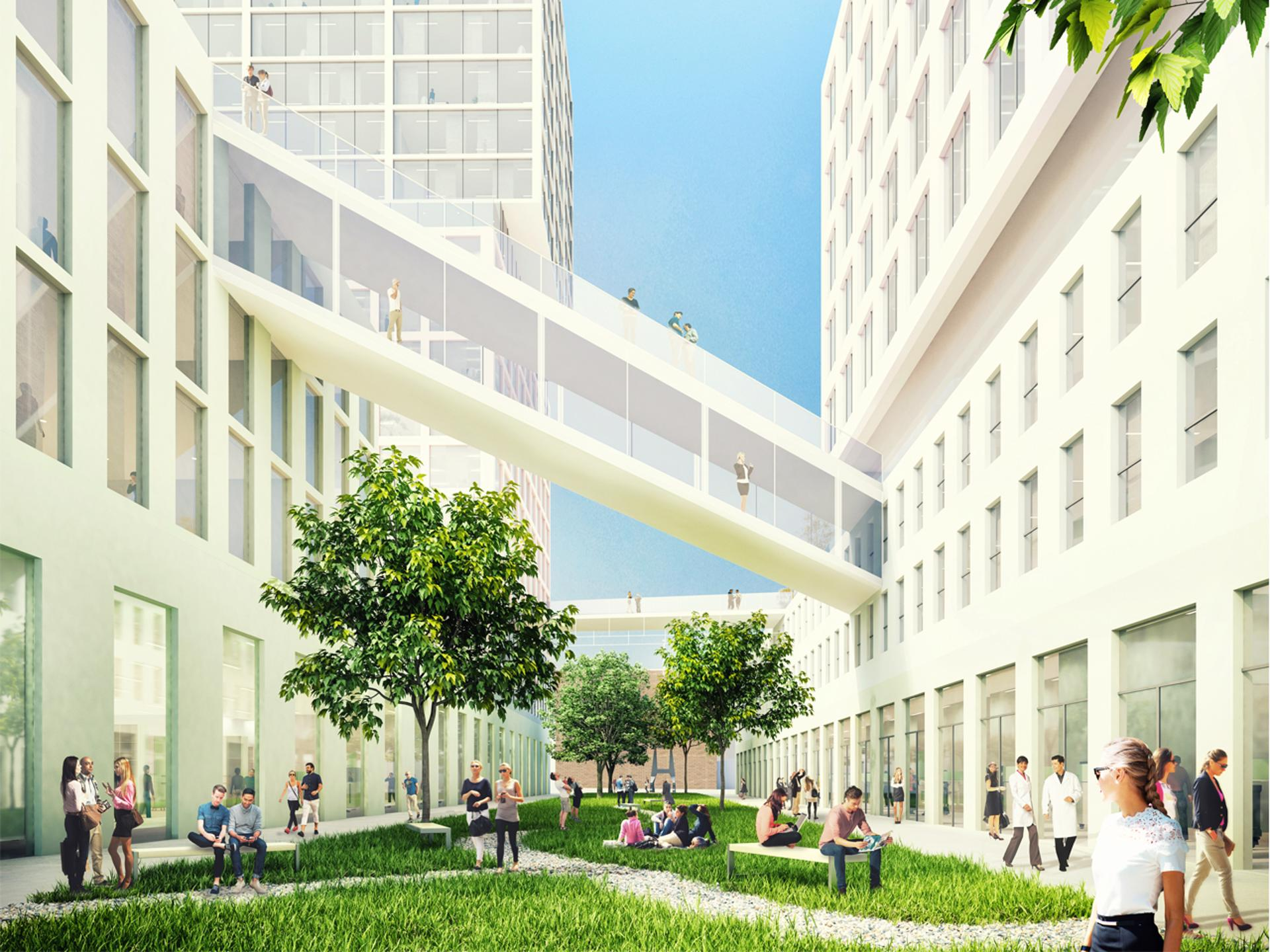 """474eff1ac9 """"At Hamburg Innovation Port we envision a very high density to create a  vibrant neighbourhood and to make the best use of this fantastic location  at the ..."""