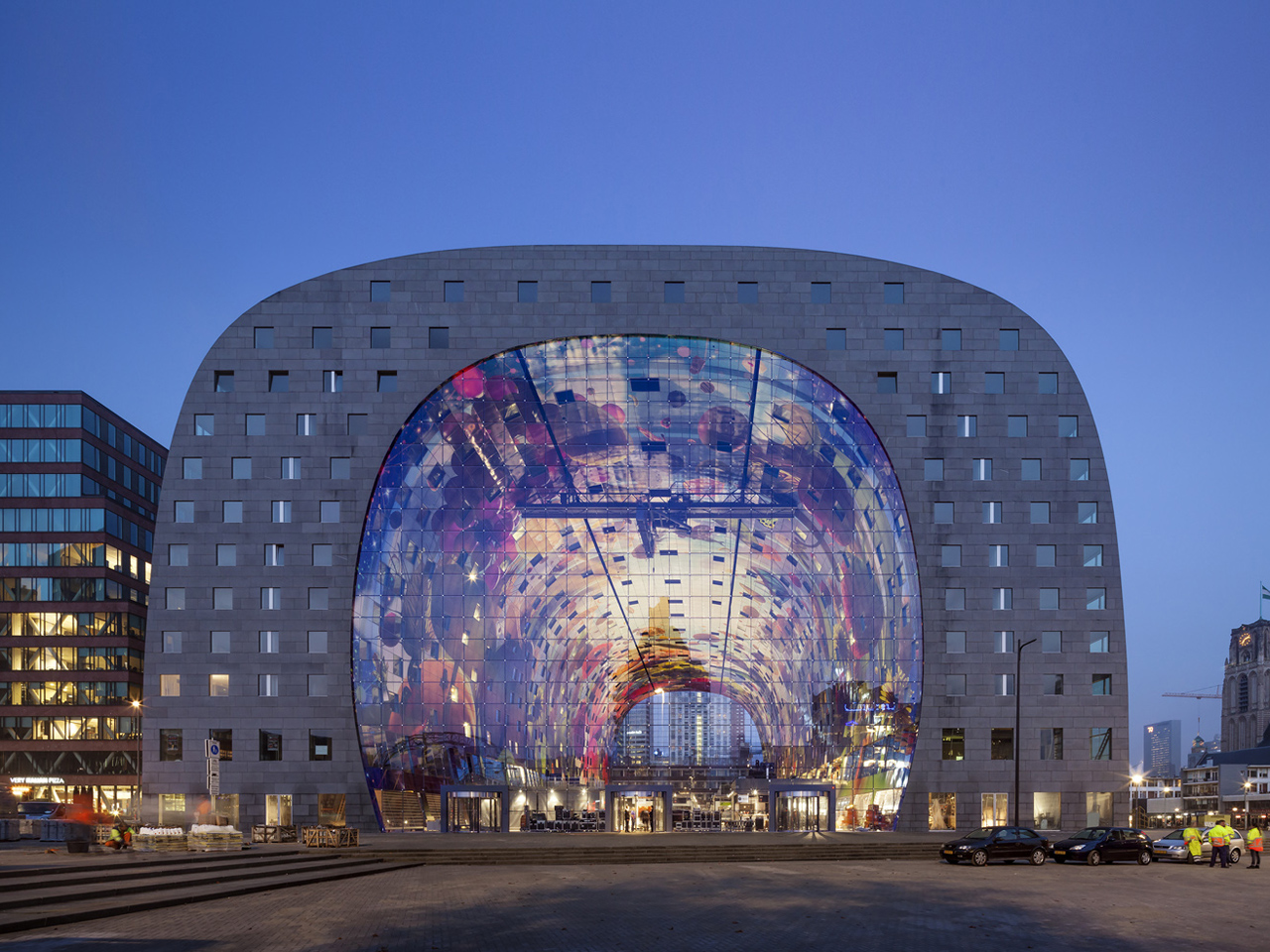 Markthal reaches its first birthday, receives more visitors than Eiffel tower