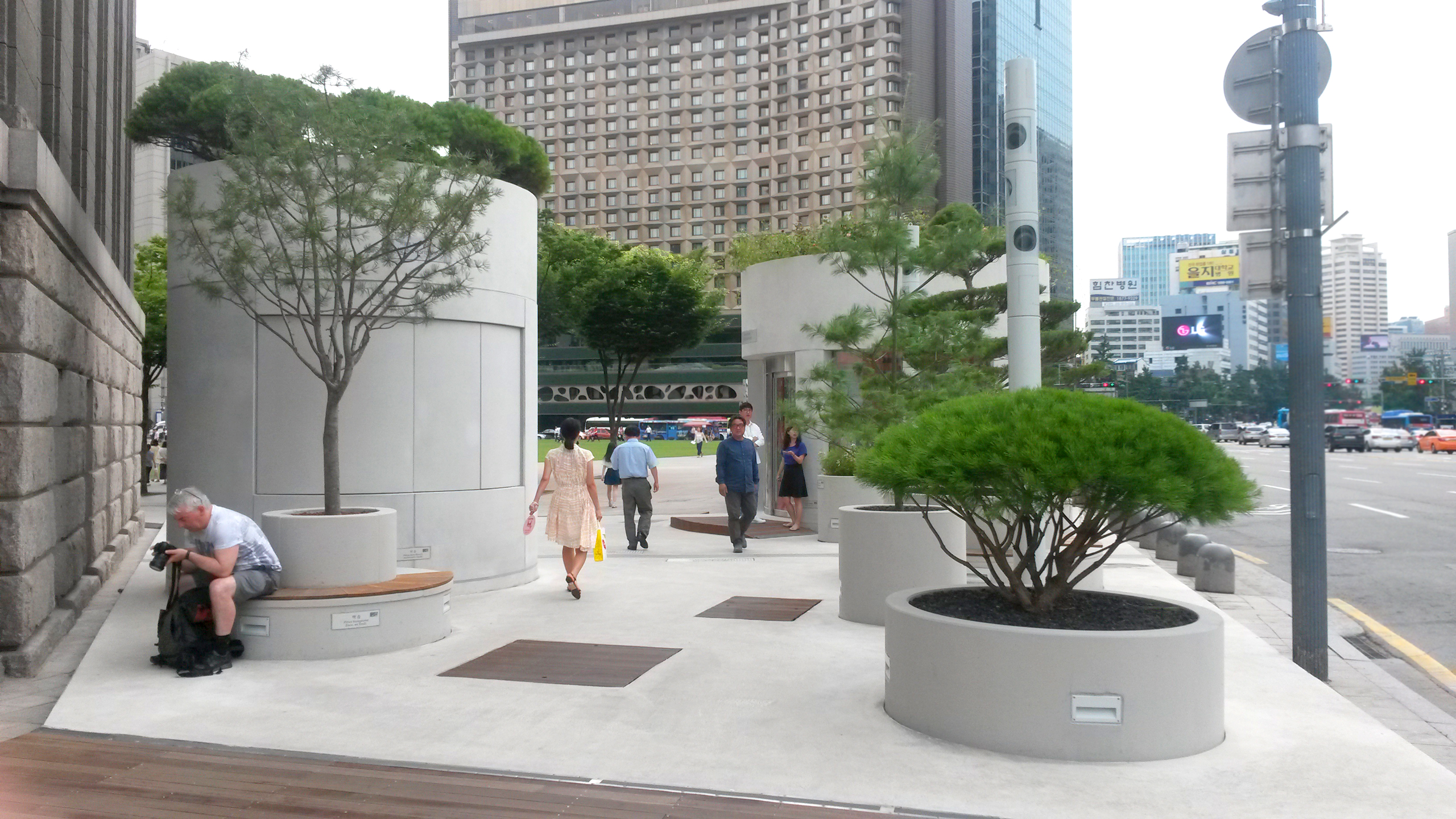 Info Garden gives a glimpse into the Seoul Skygarden