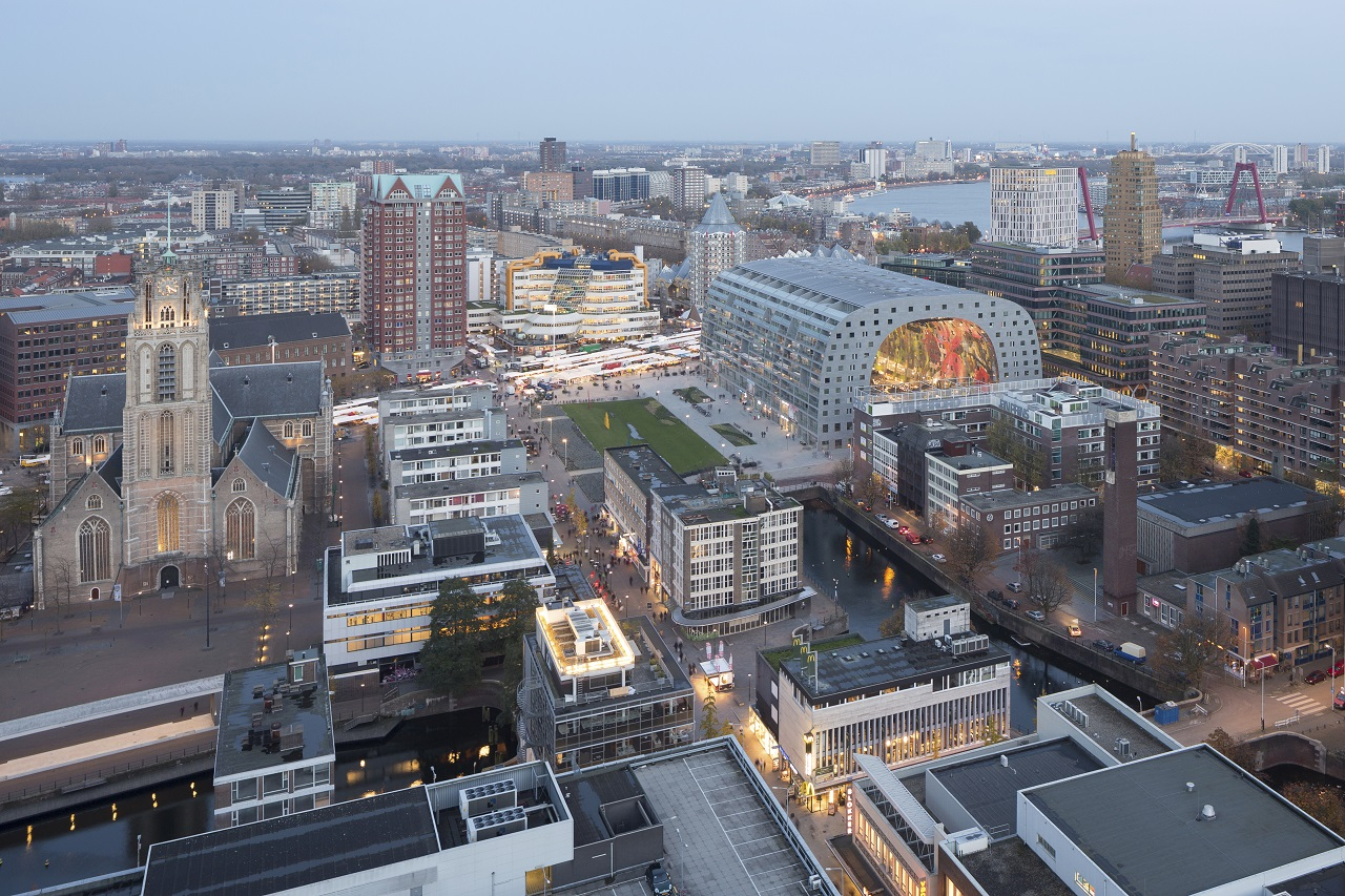 Markthal and surrounding Laurens Quarter win NEPROM Prize for Urban Development