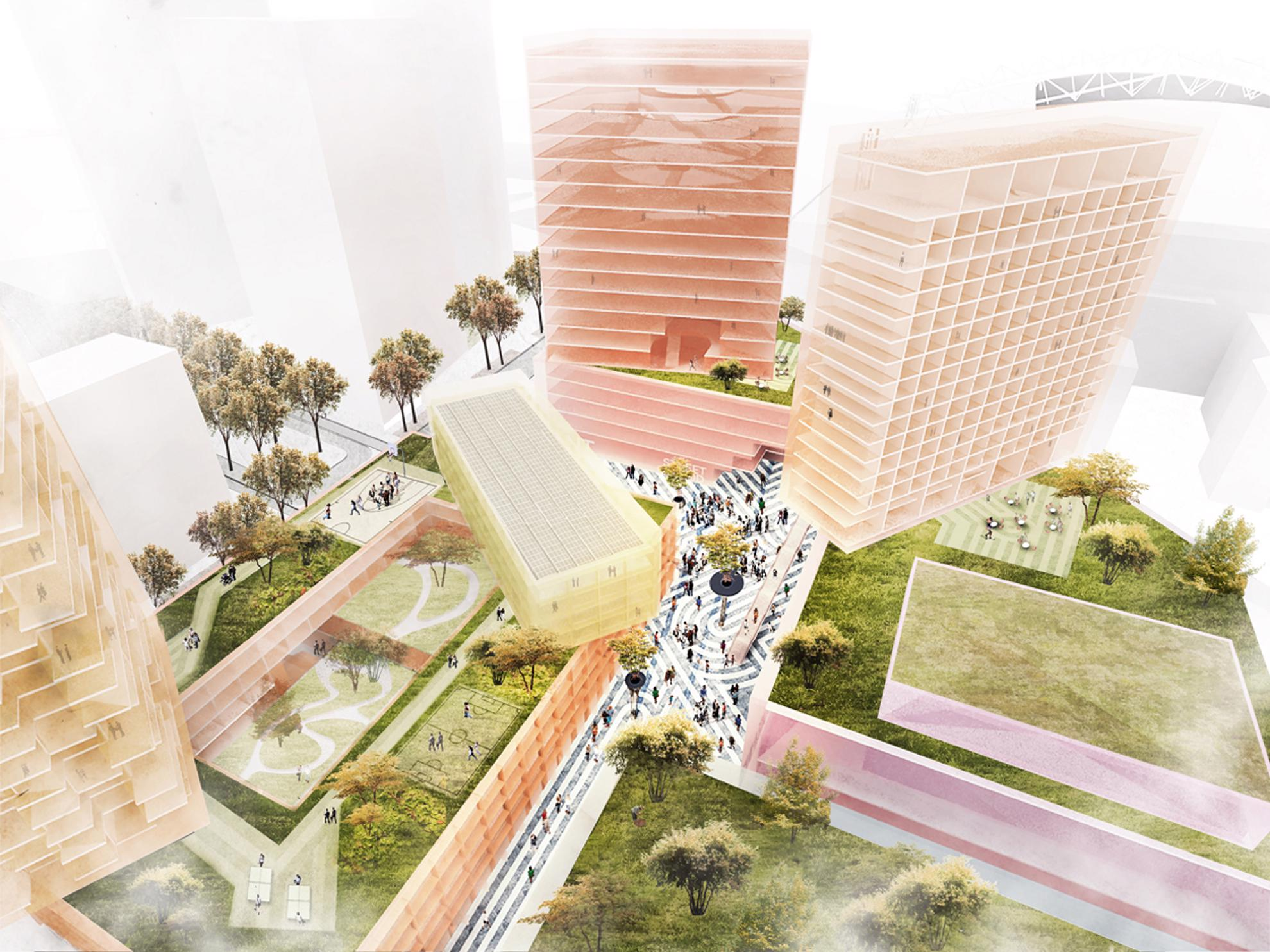 Urban Districts Embrace Social >> Mvrdv Urban Interactive District