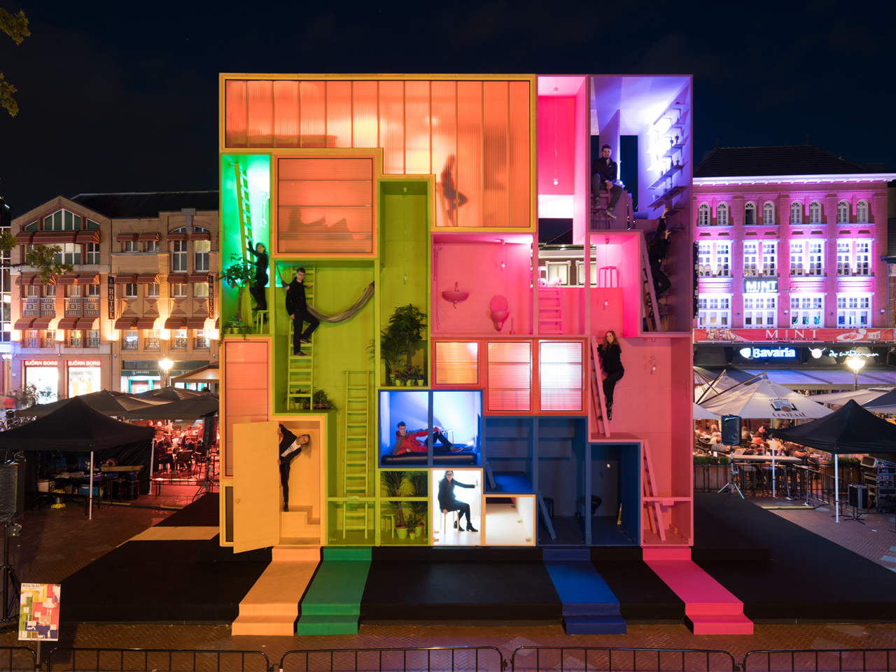 (W)ego installation open to the public at Dutch Design Week 2017