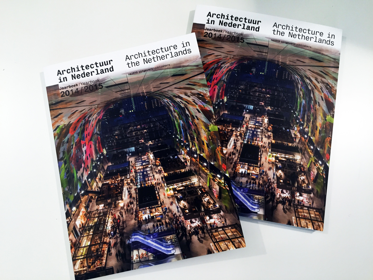 MVRDV's Markthal Rotterdam graces cover of Dutch Architecture Yearbook 2014/2015