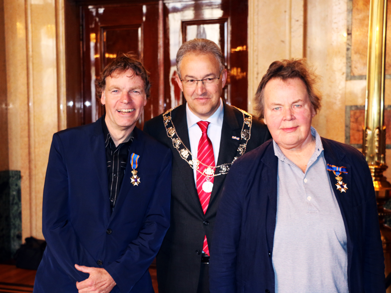 Winy Maas awarded Royal decoration of the Order of the Dutch Lion
