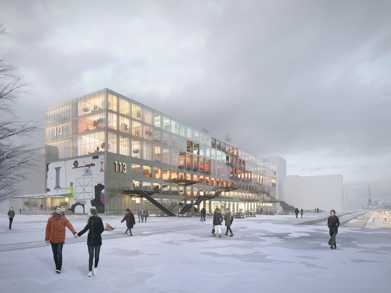 MVRDV reveal designs for  Magasin 113 Gothenburg