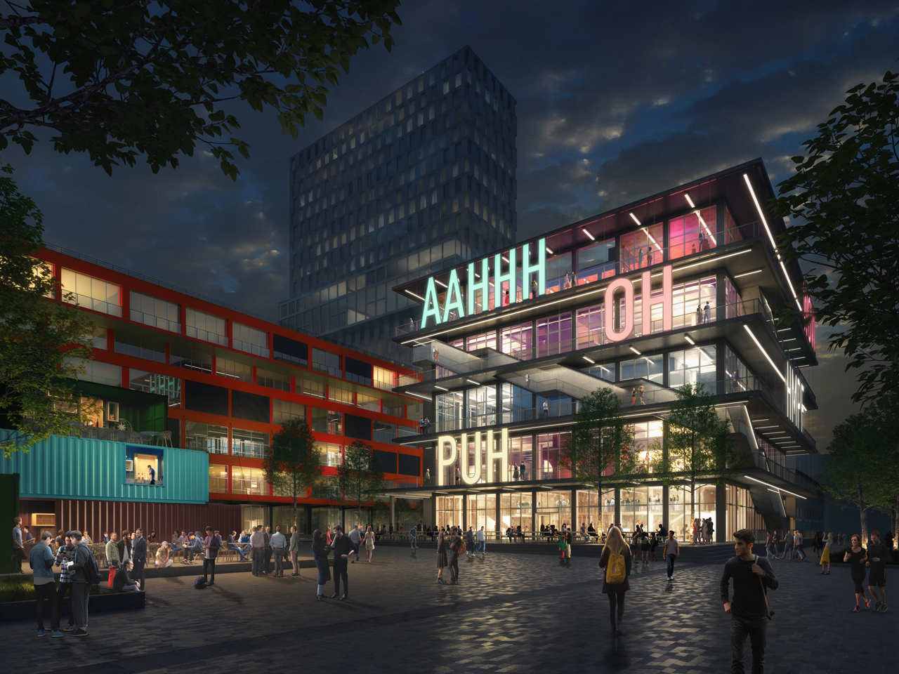 Construction begins on WERK12, a mixed-use office, culture and entertainment centre in Munich