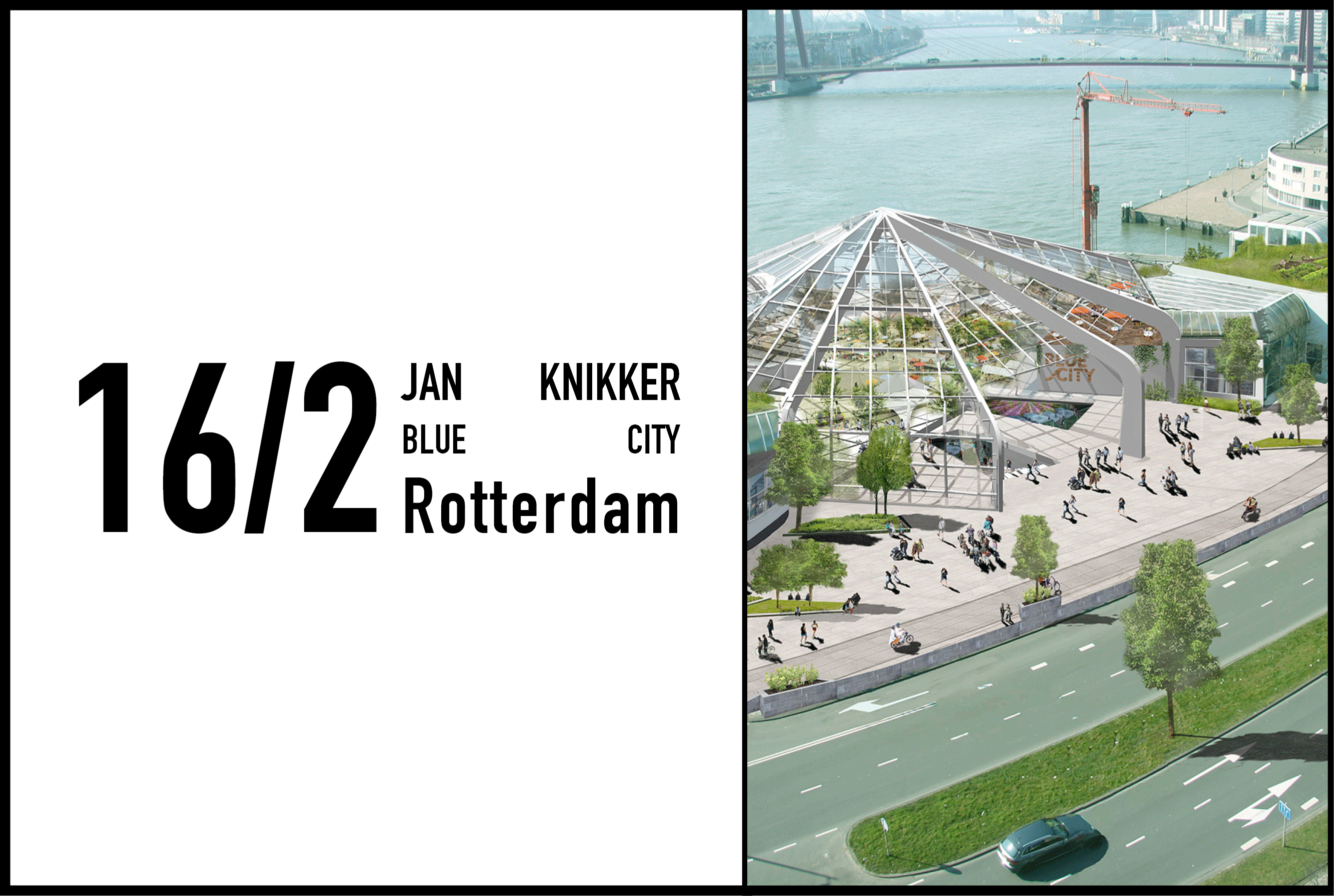 Jan Knikker to give talk at Blue City, 16 February 2017