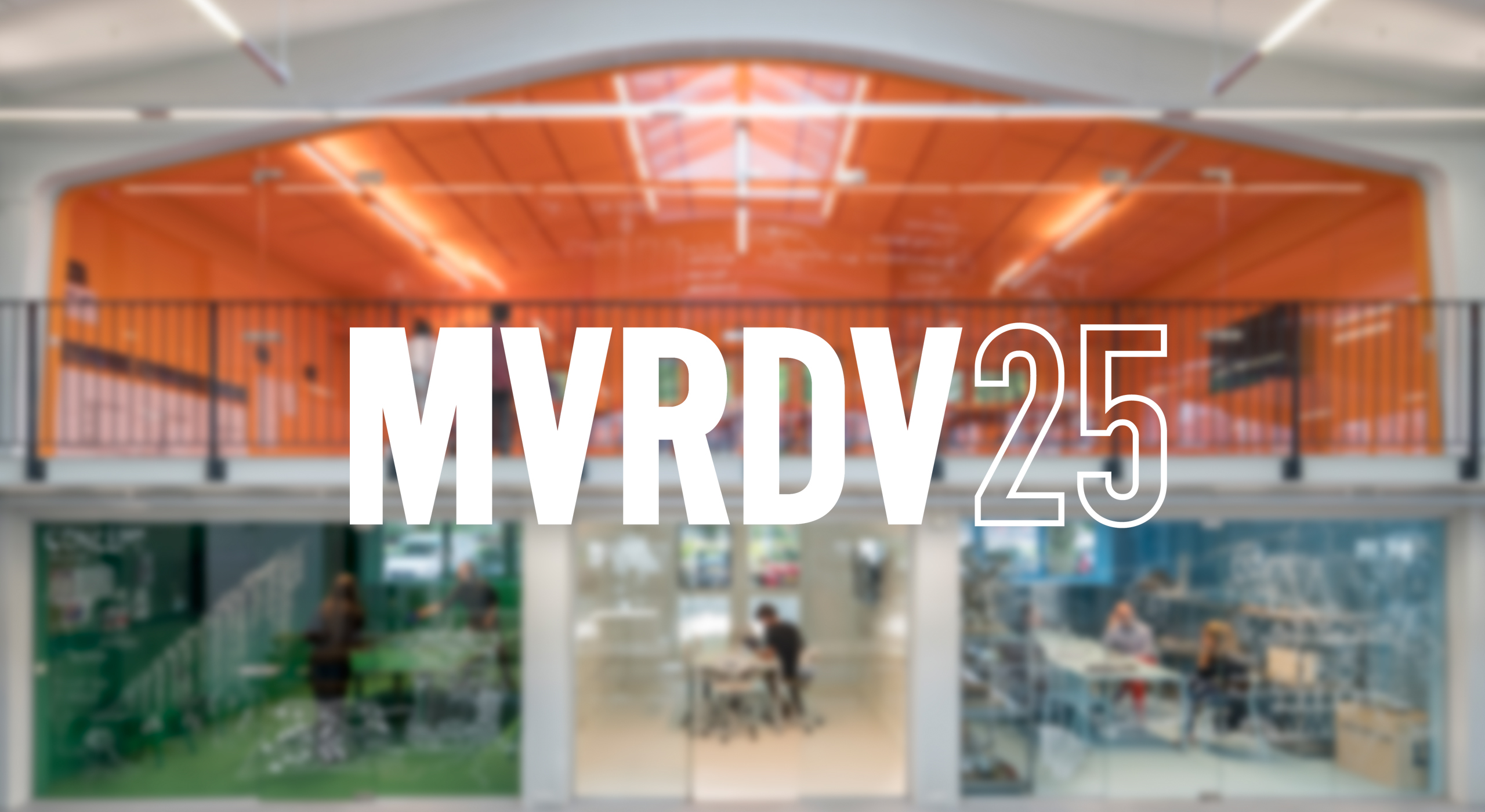 Charismatic, Idiosyncratic, Data-Driven, Green, Innovative: 25 Years of MVRDV!