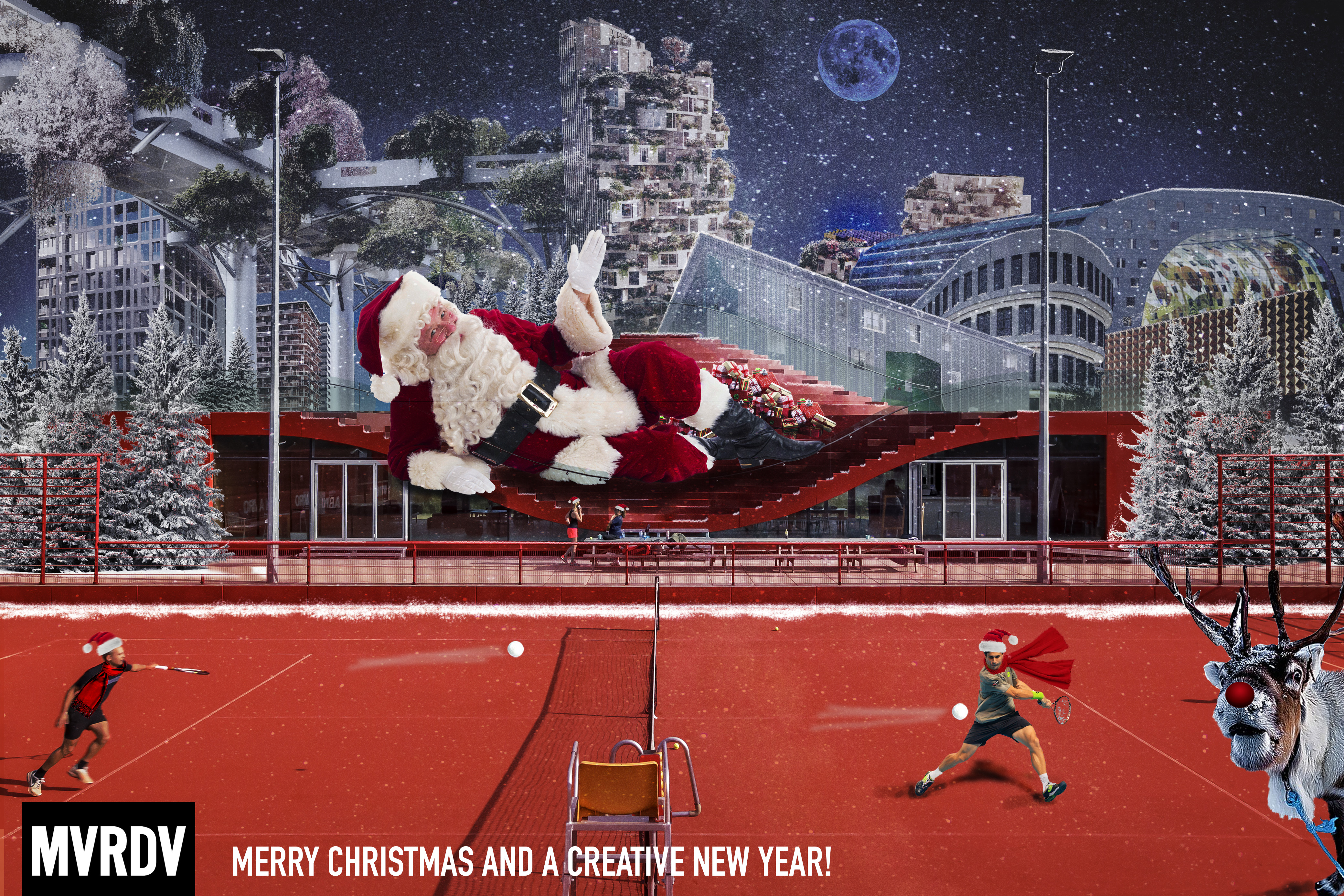 Merry Christmas and a happy new year from the MVRDV team!