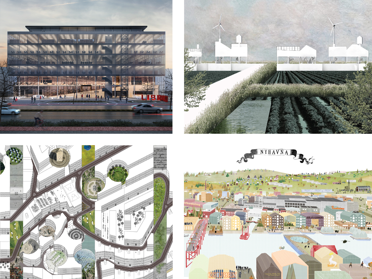 MVRDV team members win competitions across Europe