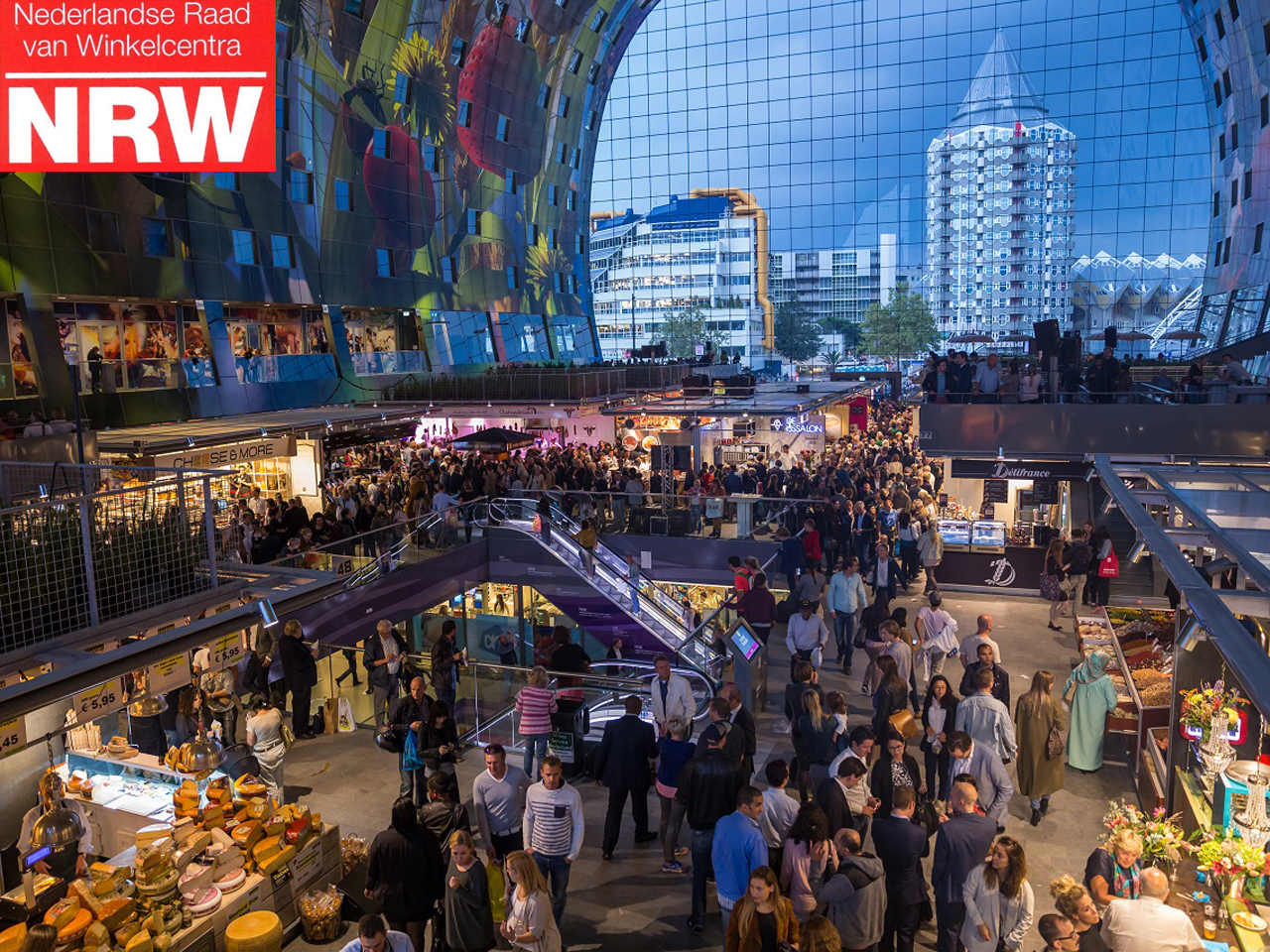 Markthal wins NRW Jaarprijs 2015, a national award for best retail building