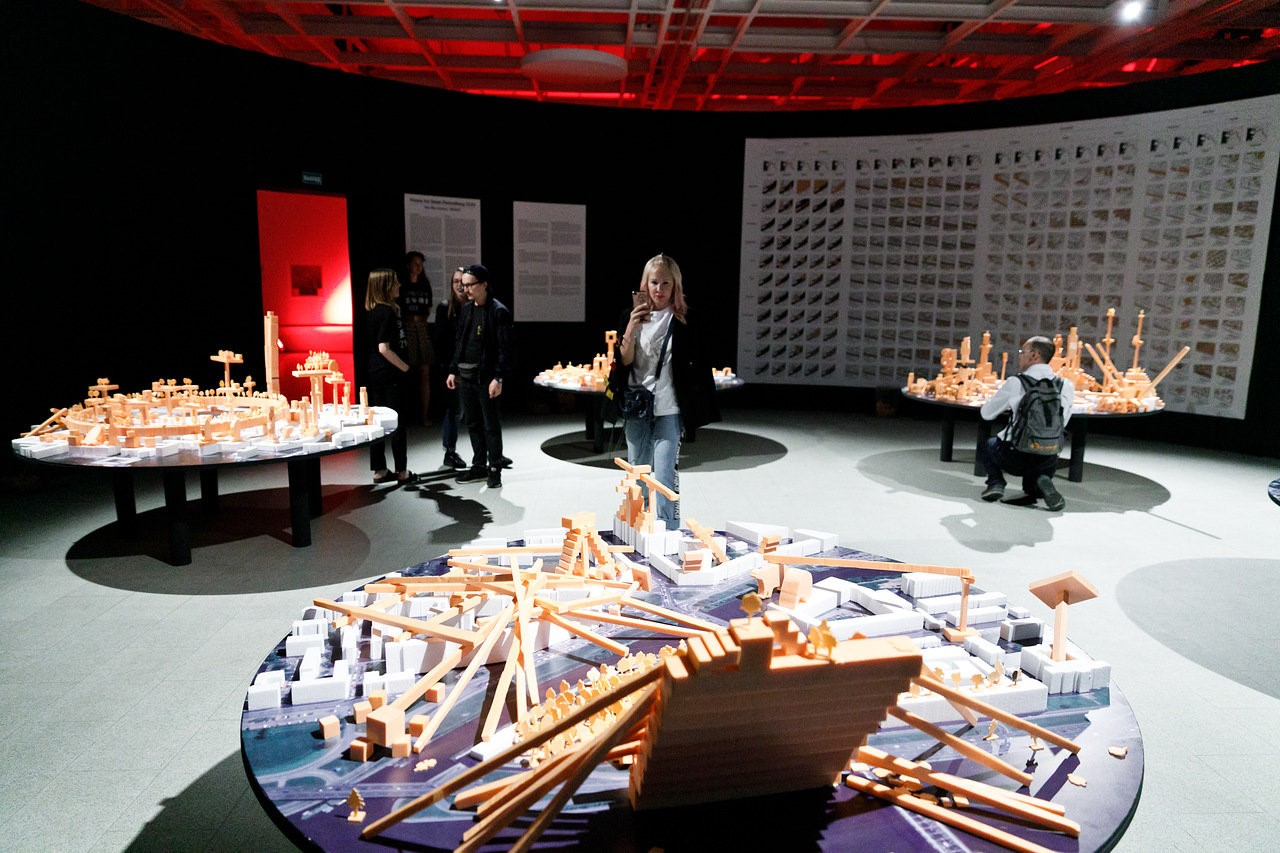 MVRDV and The Why Factory participate in the exhibition SPb 2103, a group vision of St. Petersburg