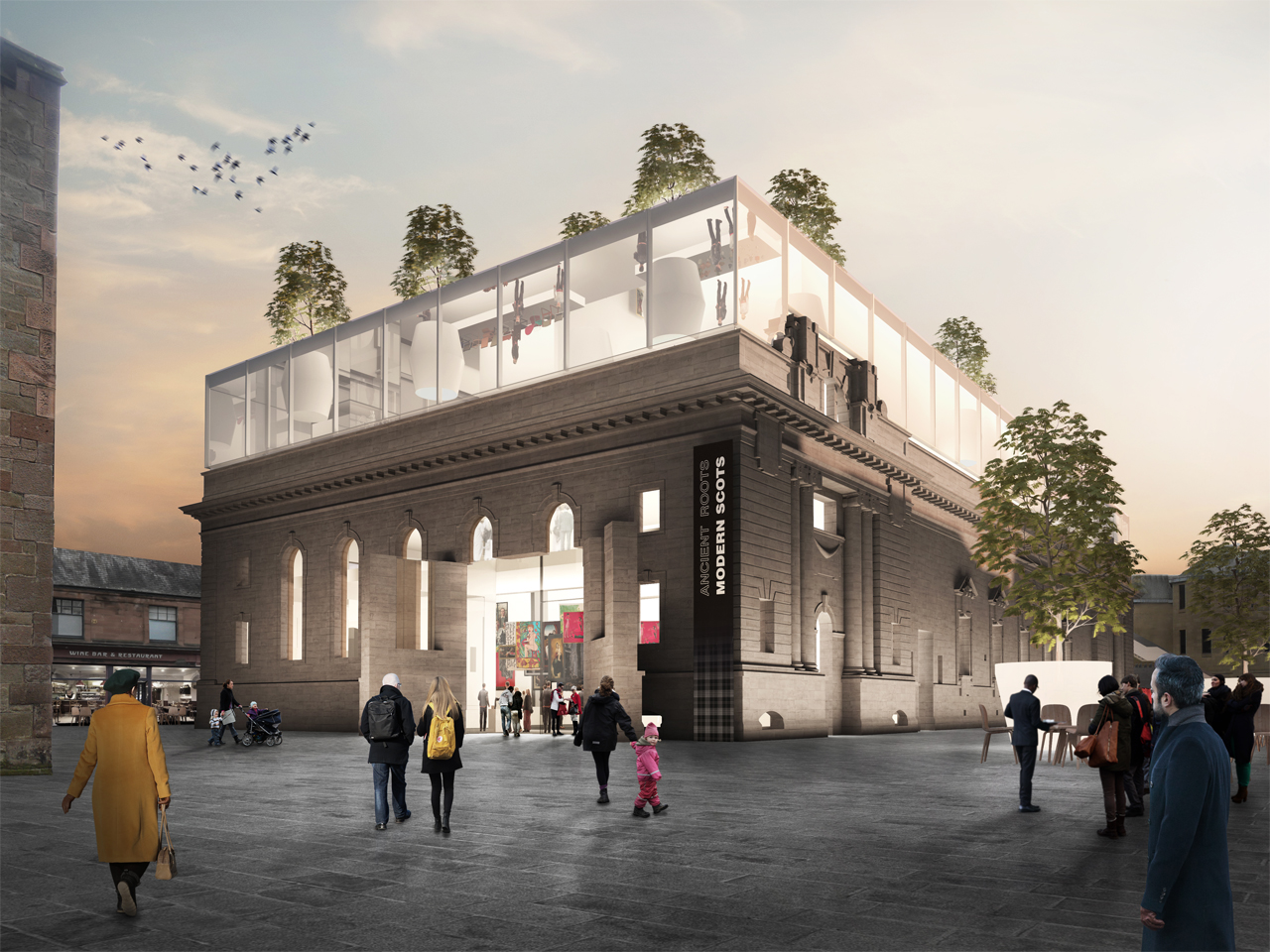 MVRDV and Austin-Smith:Lord designs for Perth City Hall go on public display