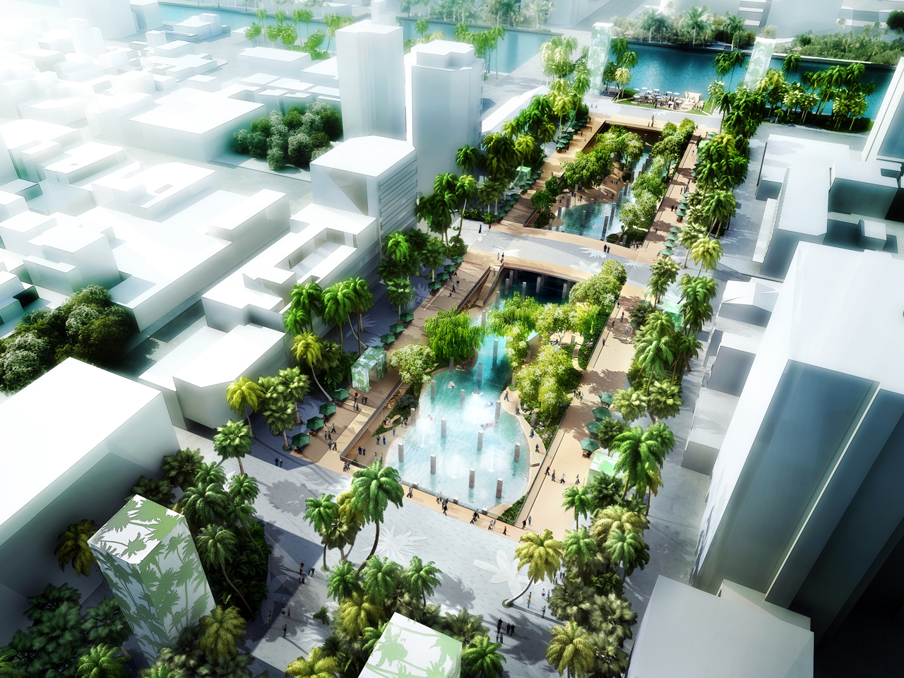 MVRDV wins competition Tainan, Taiwan urban lagoon transformation
