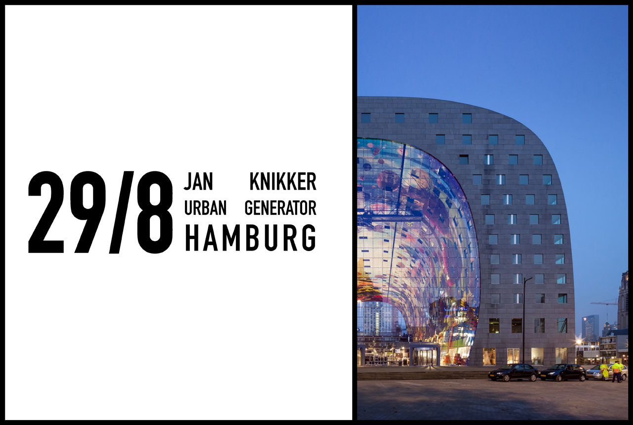 Jan Knikker to give lecture at Hamburger Handelskongress, 29th August 2016