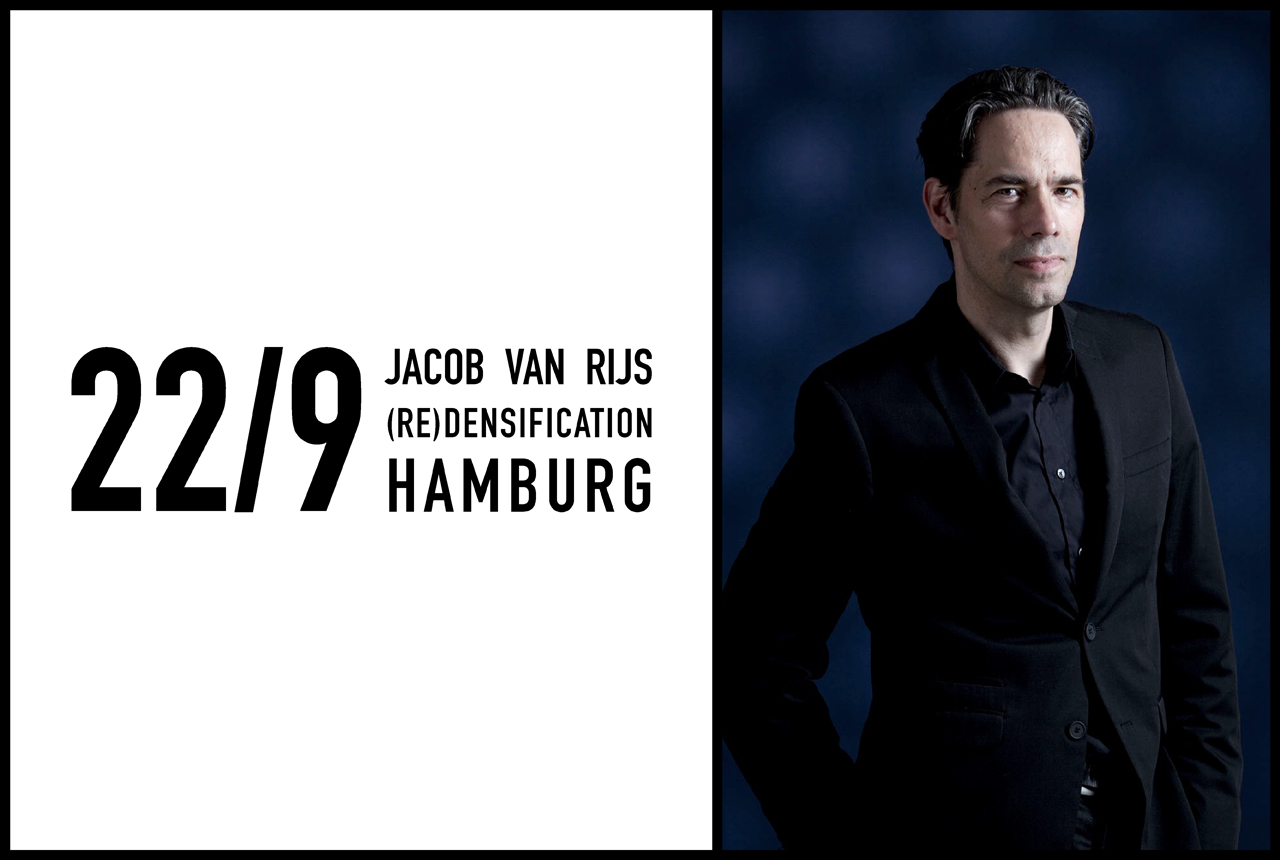 Jacob van Rijs to discuss the relationship between Architecture and water, Germany, 22nd September 2016