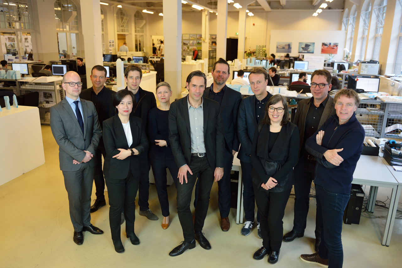 MVRDV updates its organisation and appoints five new partners