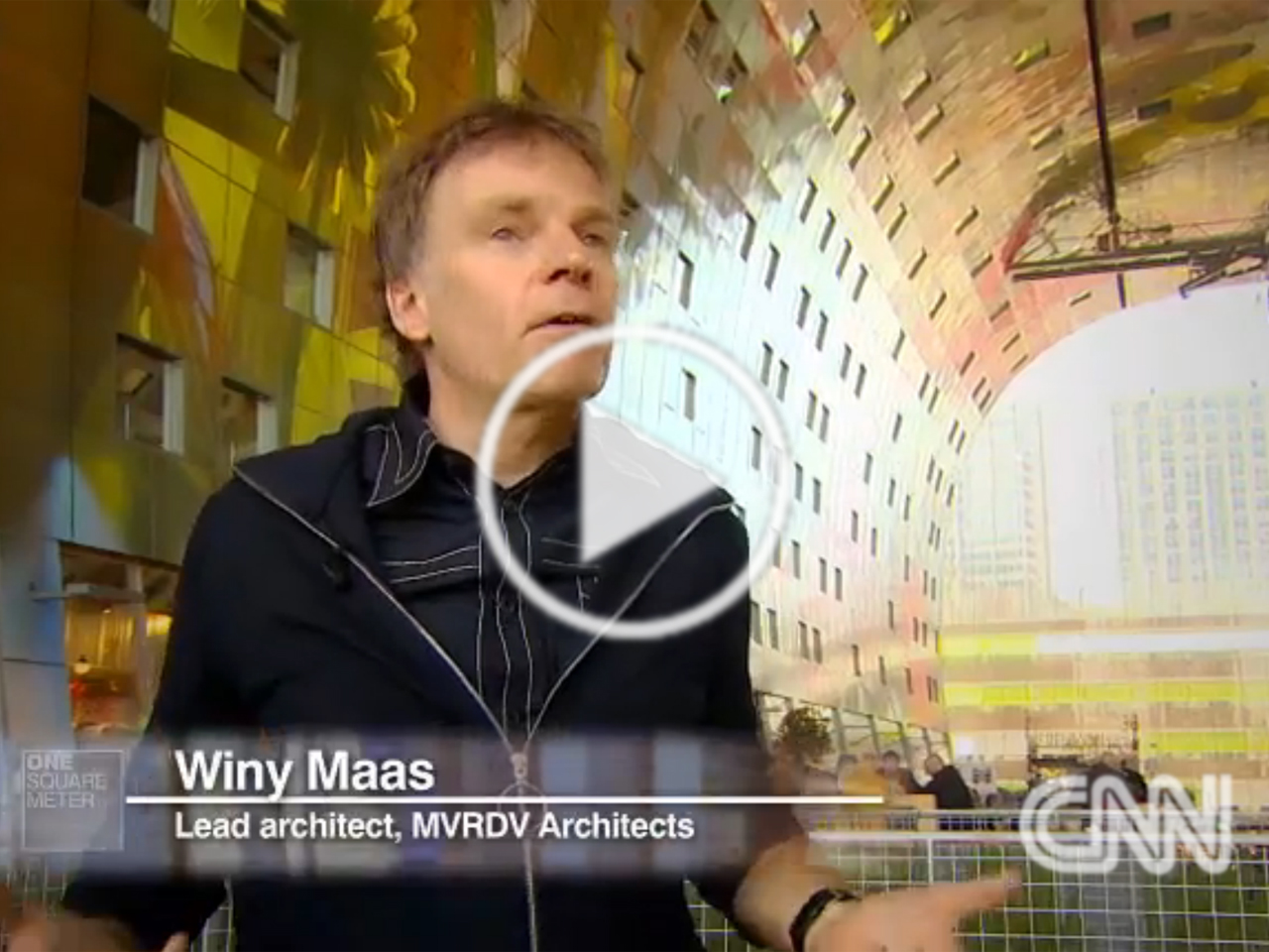 Video: Markthal and Winy Maas featured on CNN's One Square Metre property show