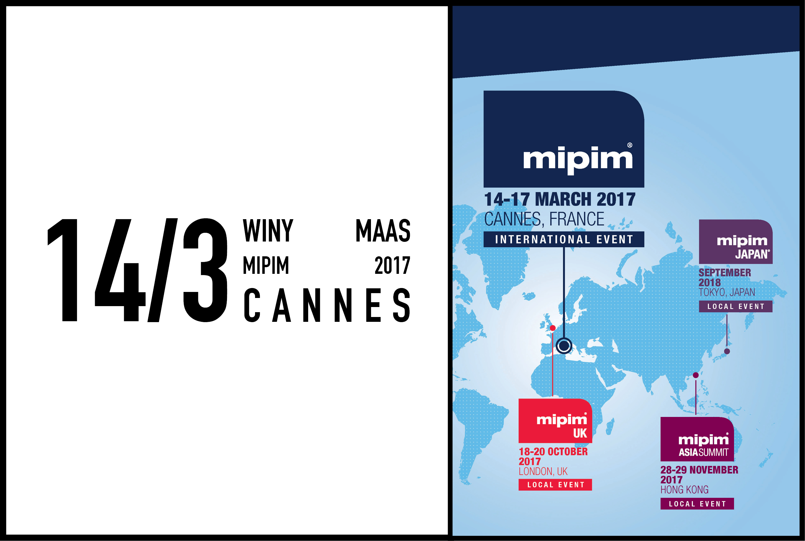Winy Maas speaking at MIPIM 2017, 14 March 2017