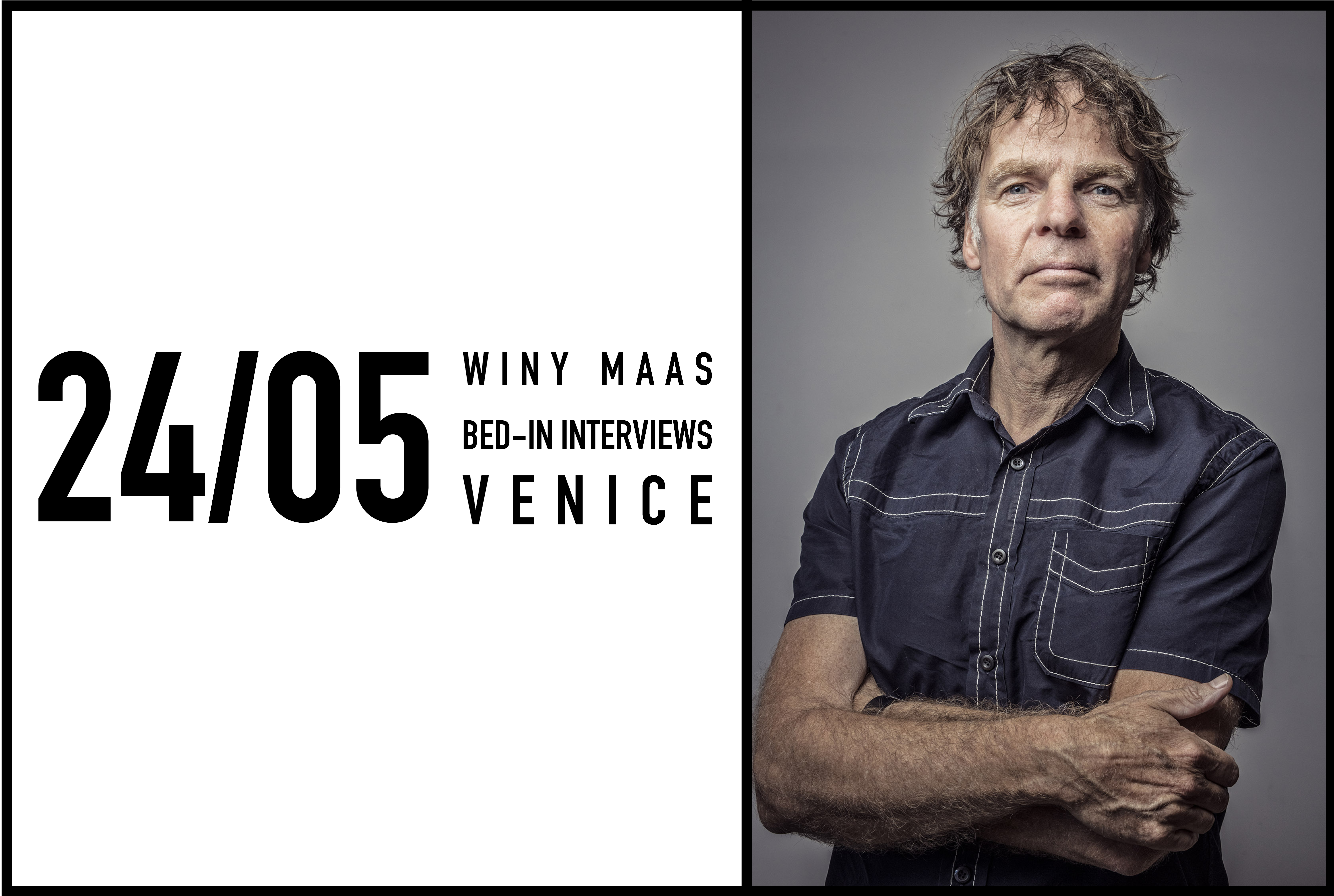 Winy Maas to give a Bed-In interview in Venice