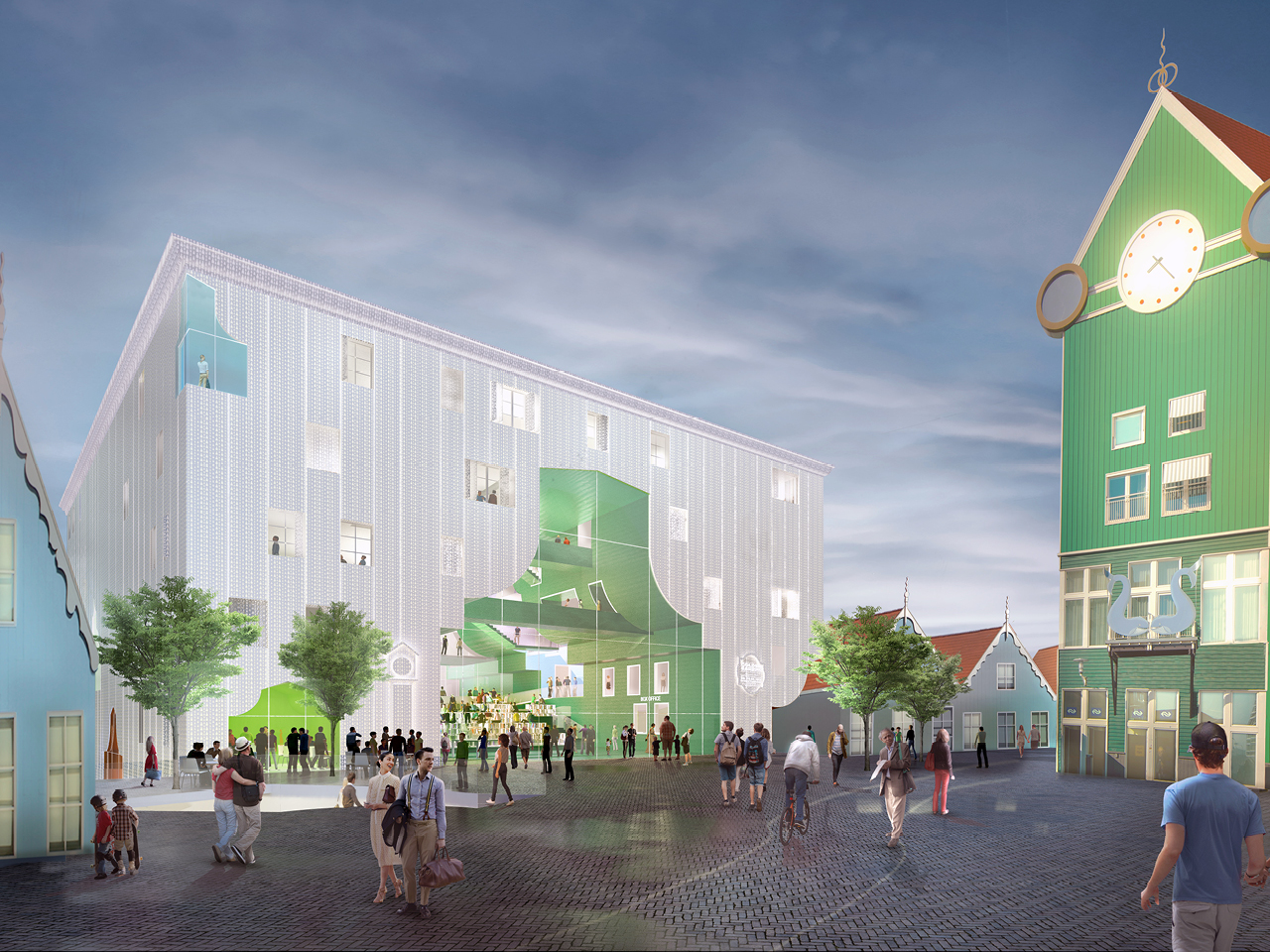 MVRDV wins competition for Zaanstad Cultural Cluster