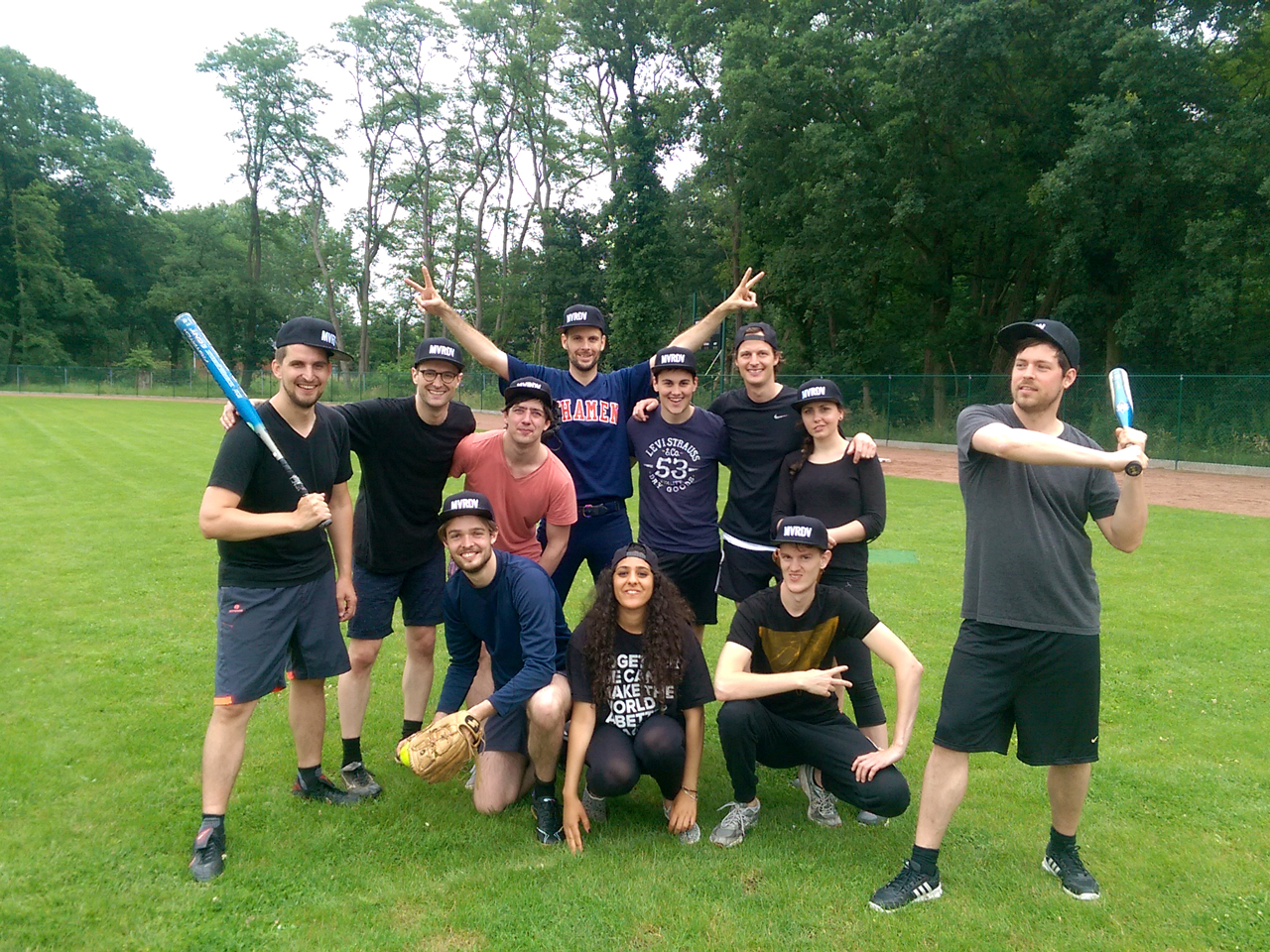 MVRDV compete in Braaschaat softball competition