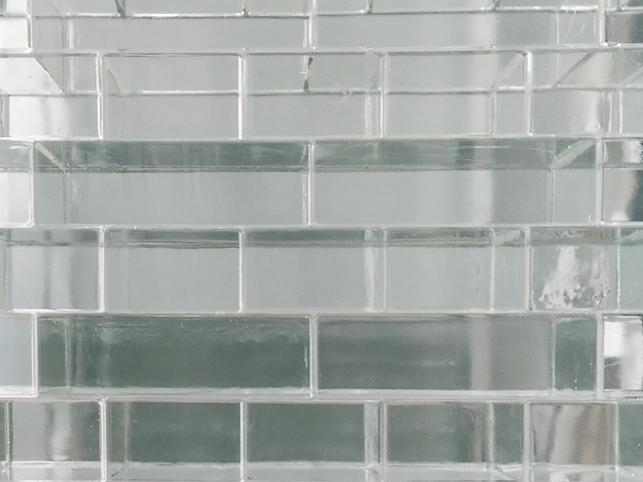 Wall of glass bricks designed by MVRDV featured in Dutch Design Week until November 15th