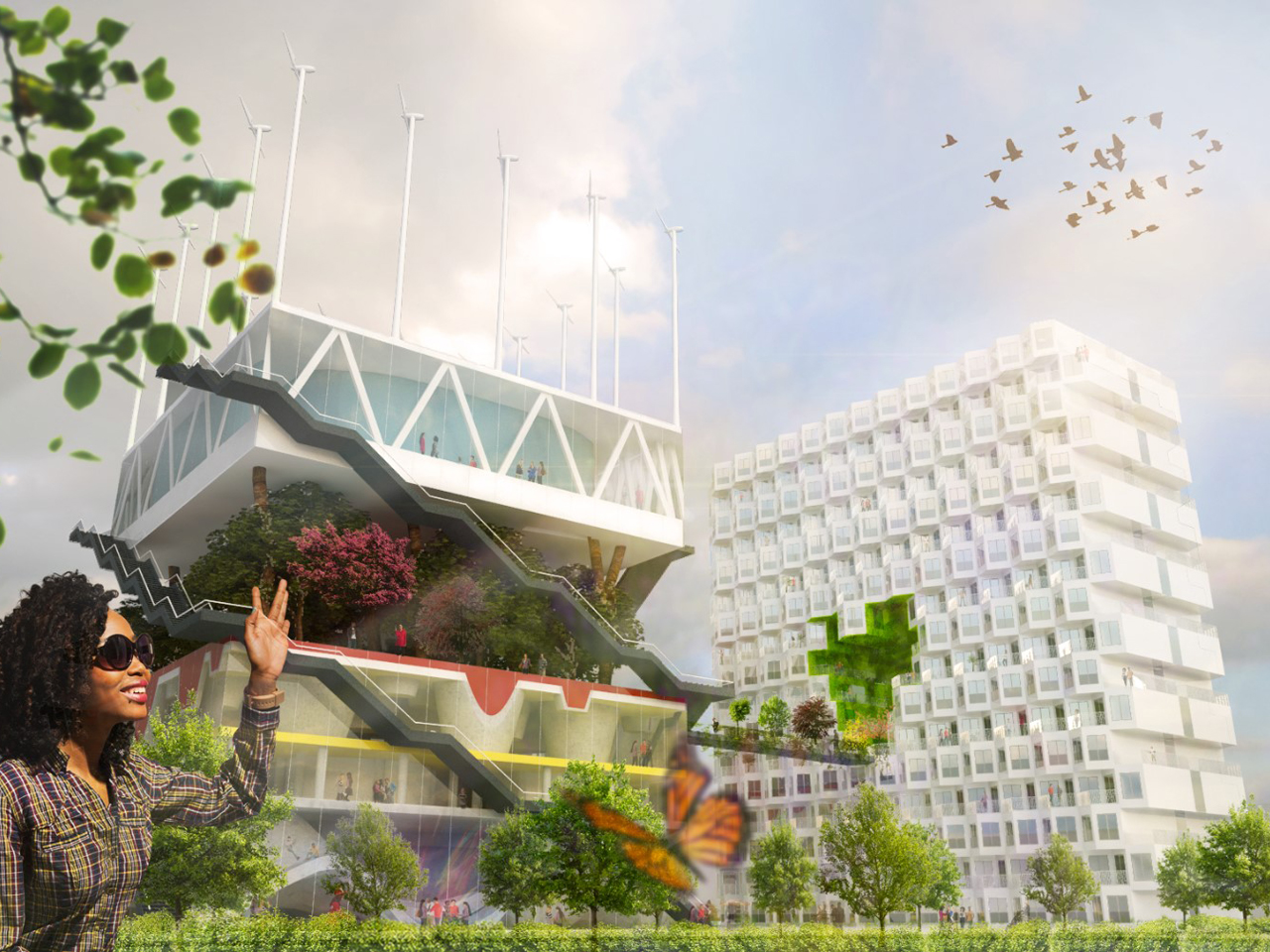 MVRDV's Expo 2000 in Hannover is to be revitalized and integrated in the city's university facilities