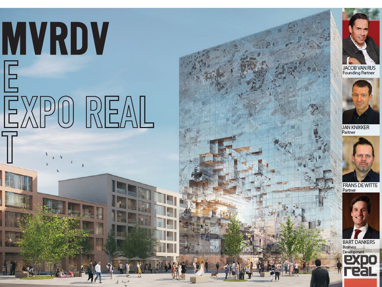 Meet MVRDV at EXPO REAL in Munich