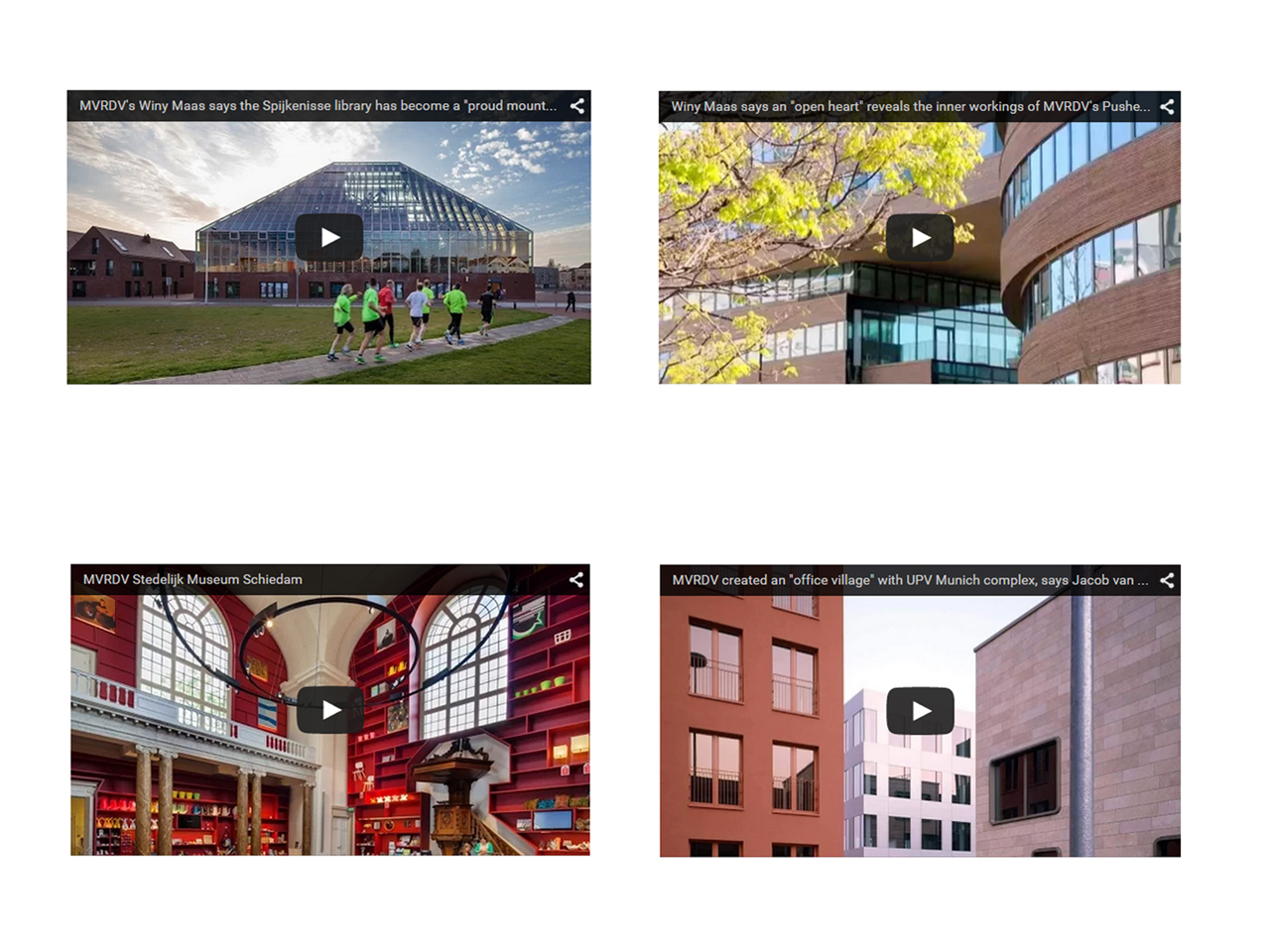 MVRDV releases in-depth documentary series about its buildings and their users on Dezeen