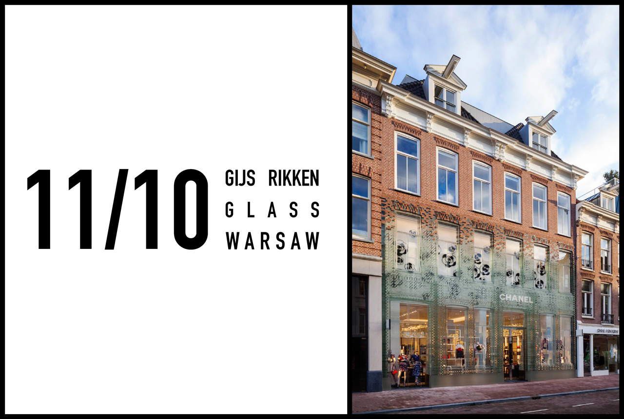 MRVDV's Gijs Rikken to give masterclass on Explorations in Glass, Warsaw, 11th October 2016