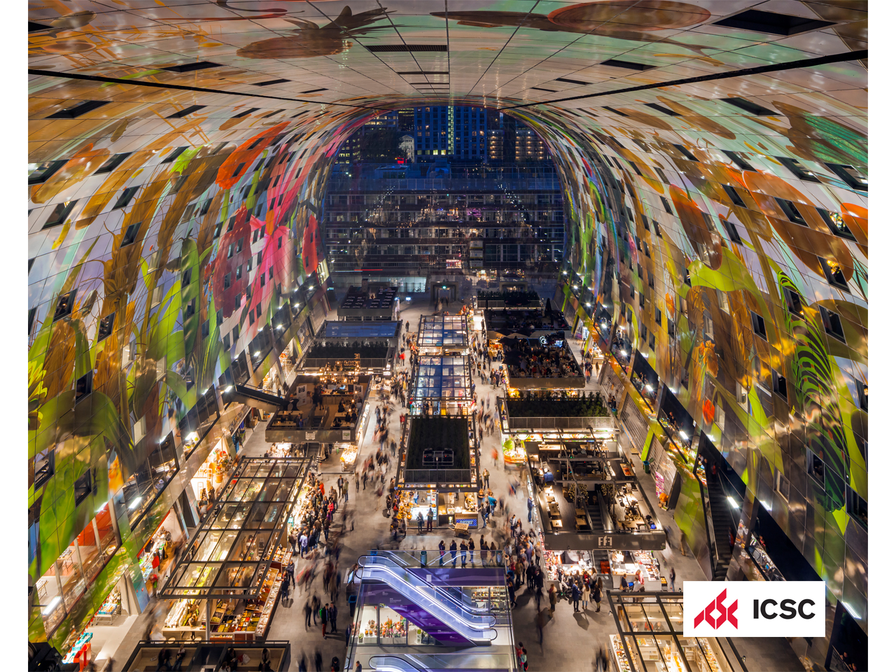 Markthal wins ICSC award for best shopping centre in the world